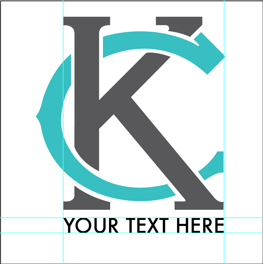 "Futura Medium, Flush left with ""K"""