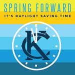 03.07.14  Reminder to spring forward one hour for your clocks on Sunday for Daylight Saving Time!