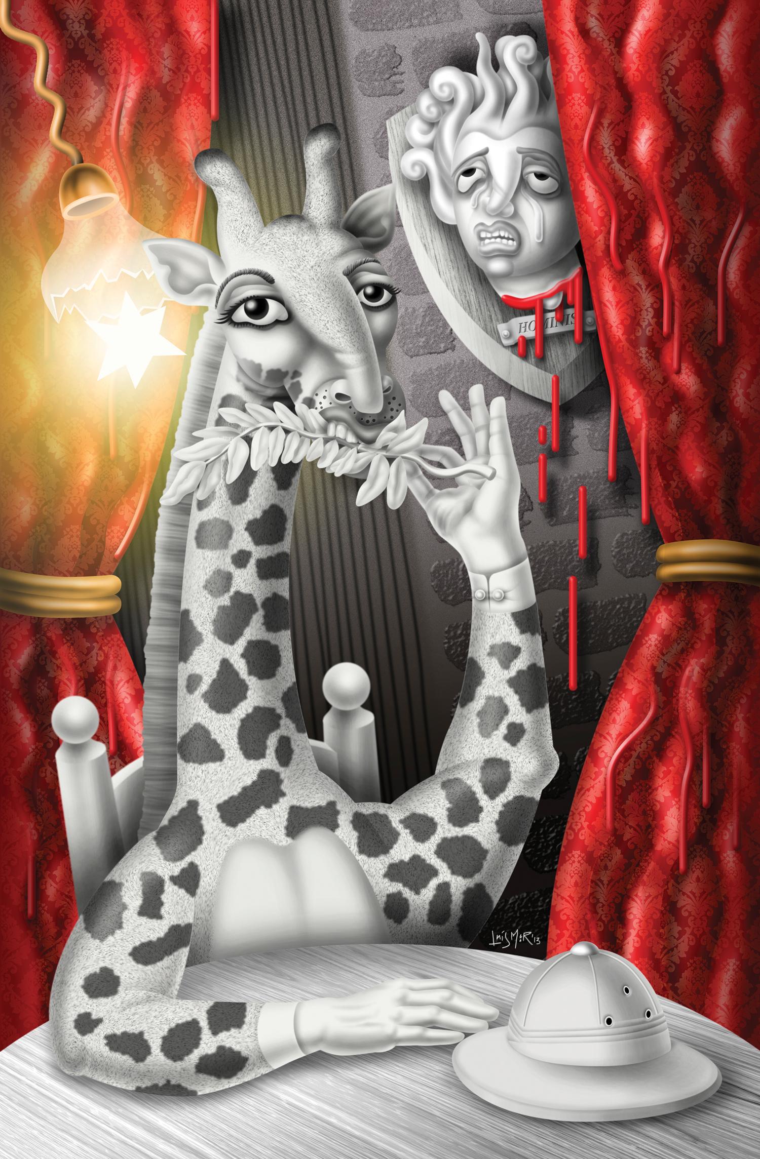 """""""Cazador Cazado"""" Técnica digital, Luis Moor 2013"""