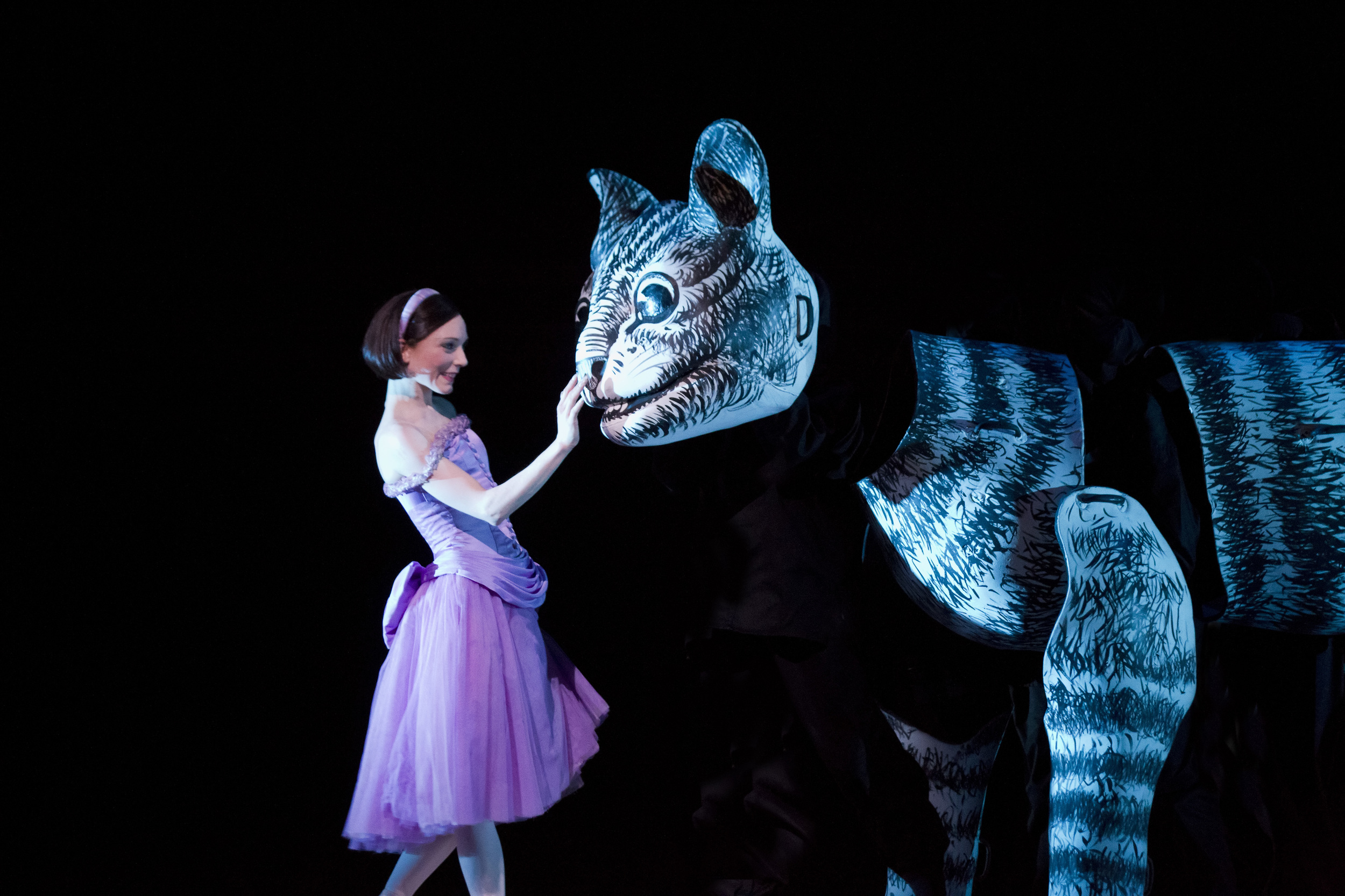 Alice with the Cheshire Cat