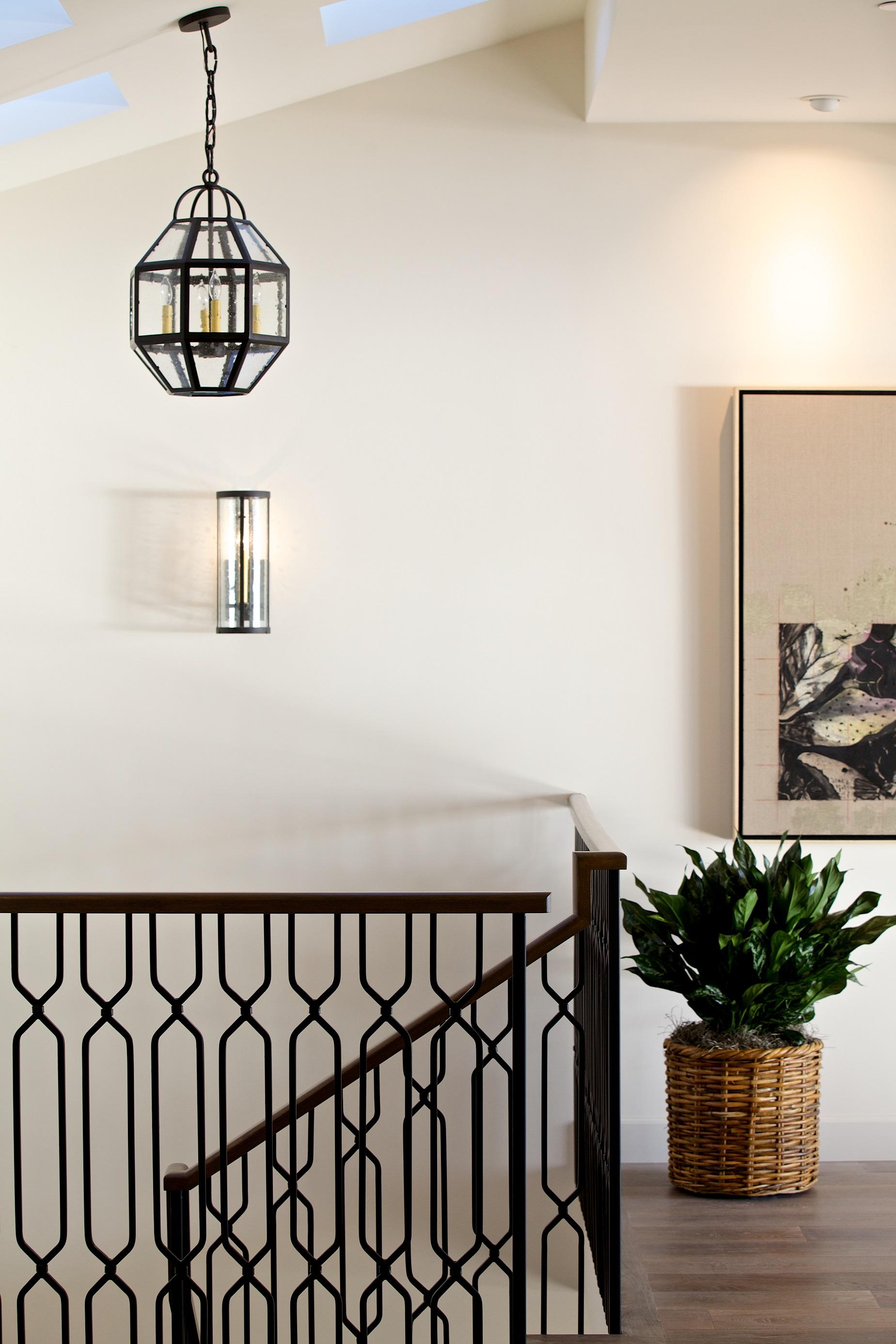 Custom Iron Pendant Light & Wall Sconce