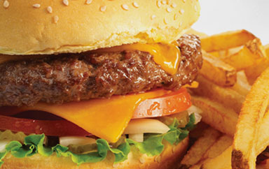 The Simple Cheeseburger is SIMPLY delicious at Beck's Prime!