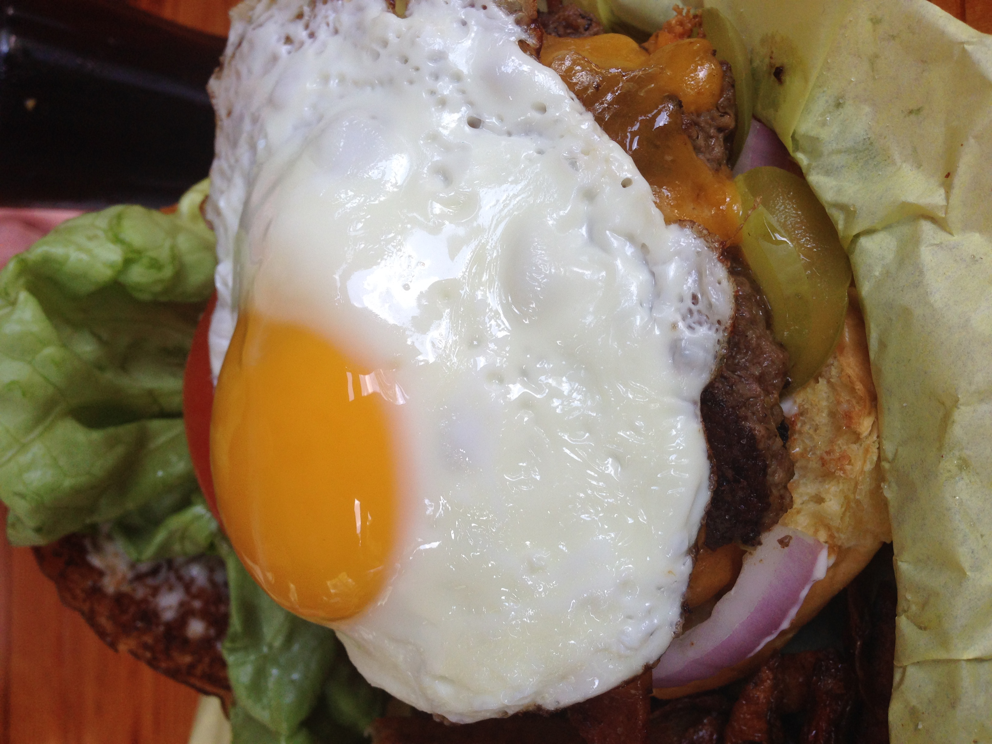 The Rancor - 1/2lb Angus-beef burger at Petrol Station