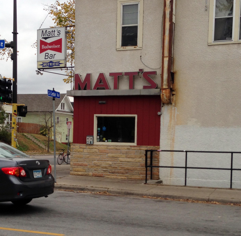 Matt's Bar & Grill - Since 1954.- 35th & Cedar, Minneapolis, MN