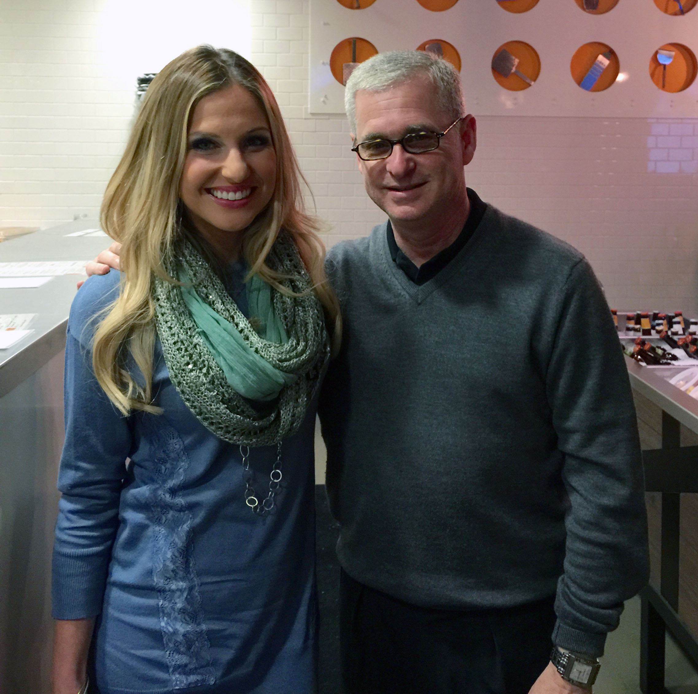 Joined by Katherine Whaley of Channel 13 - Creator of Kat's Mac & Cheese Burger