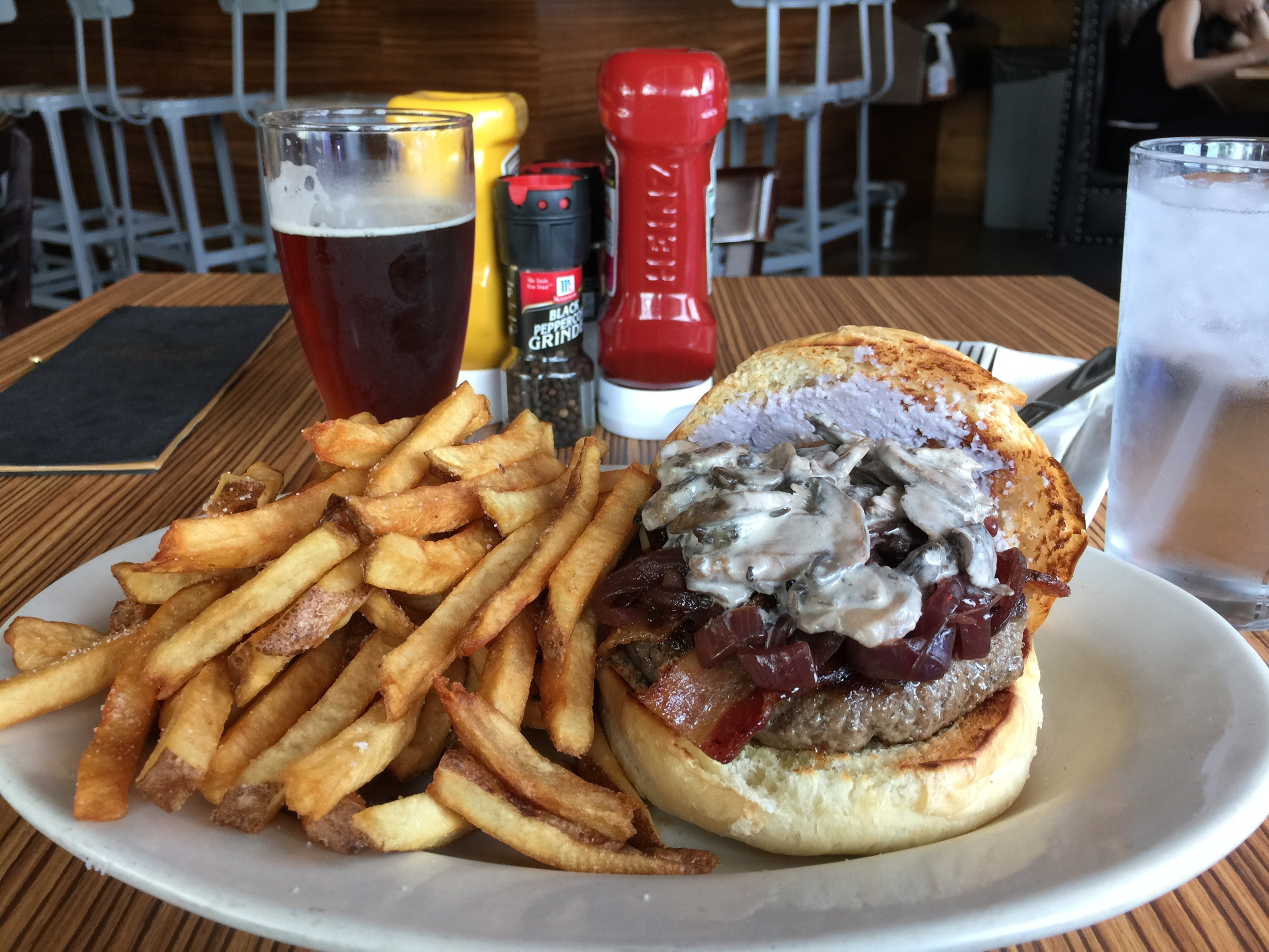 The Bewitching Stilton Burger from Witchcraft Tavern & Provision, Co.