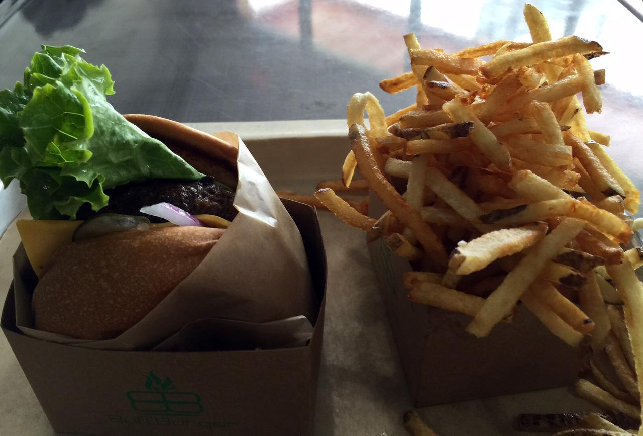 Buff Burger's Namesake Burger