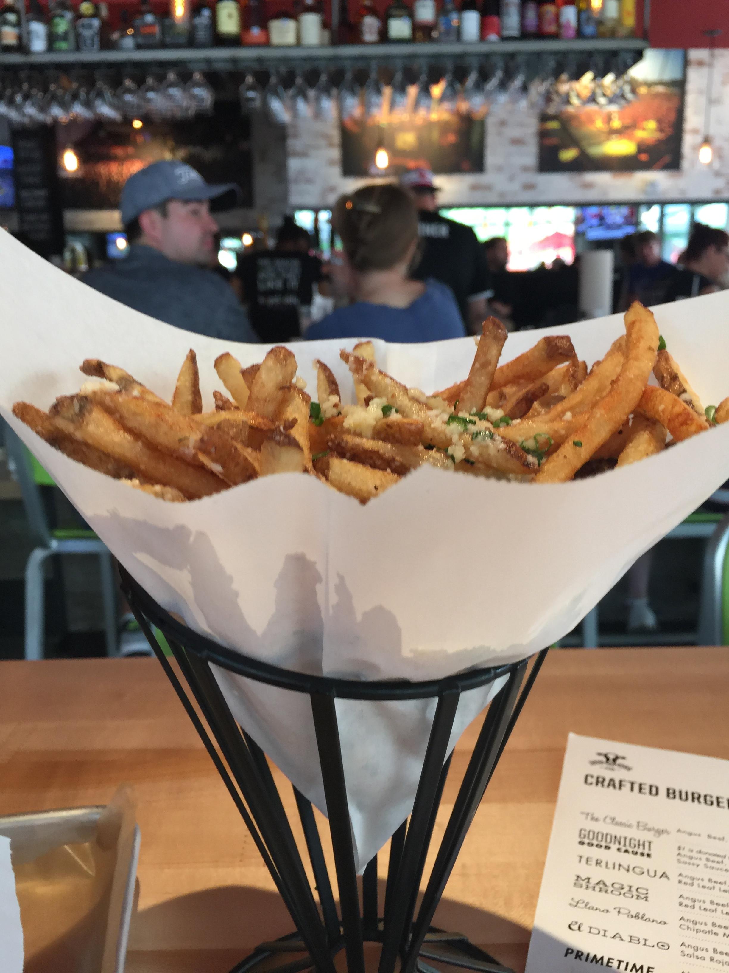 Crispy thin Truffle Fries