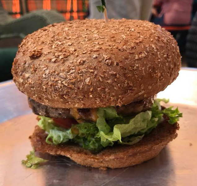 River Oaks CC Burger from Rodeo Goat - Houston