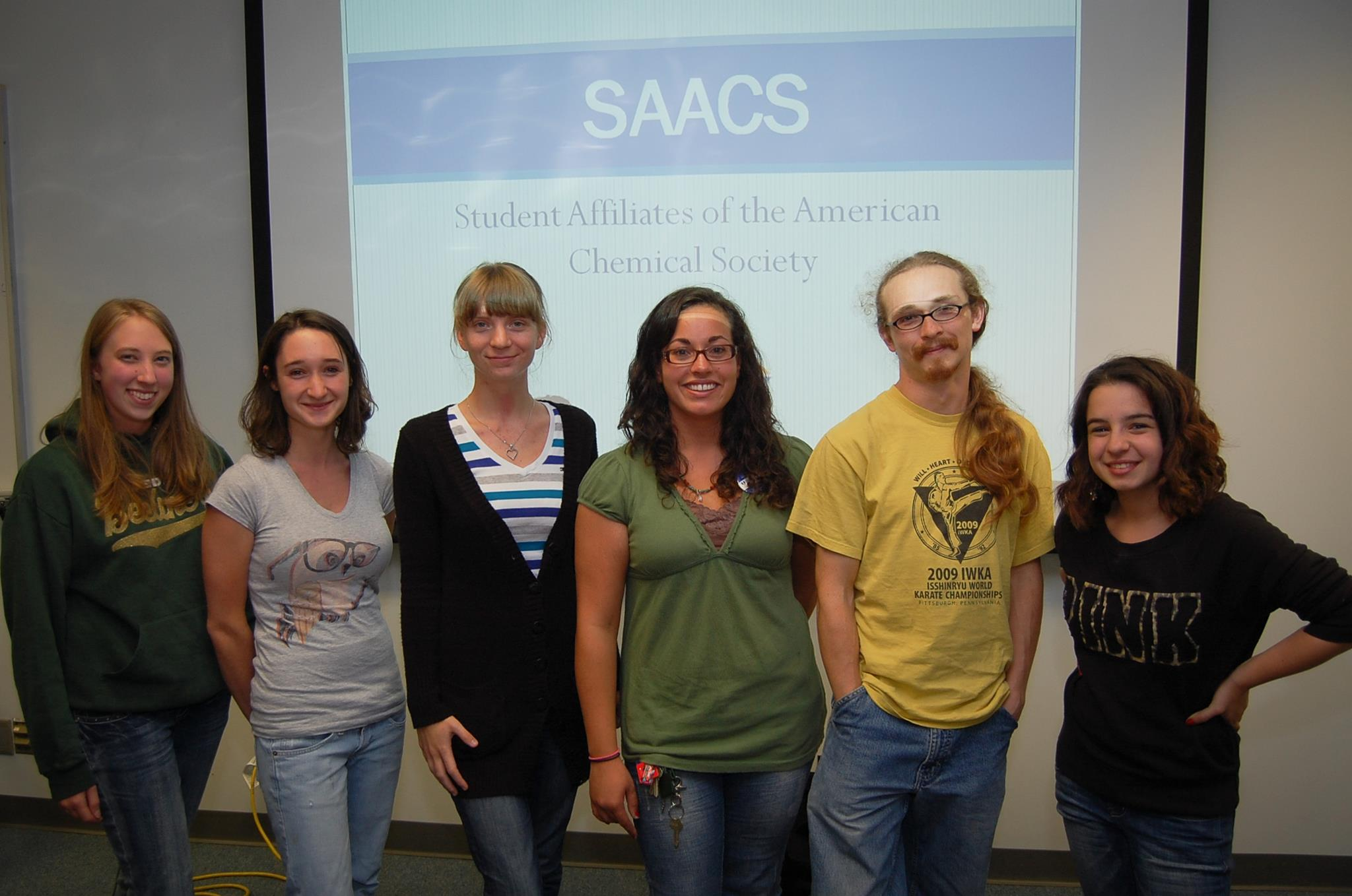 SAACS Student Officers for 2012-2013
