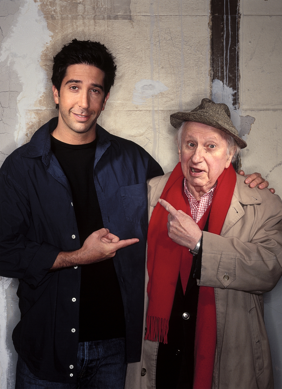 David Schwimmer, Actor and Director / Studs Turkel, Actor and Writer