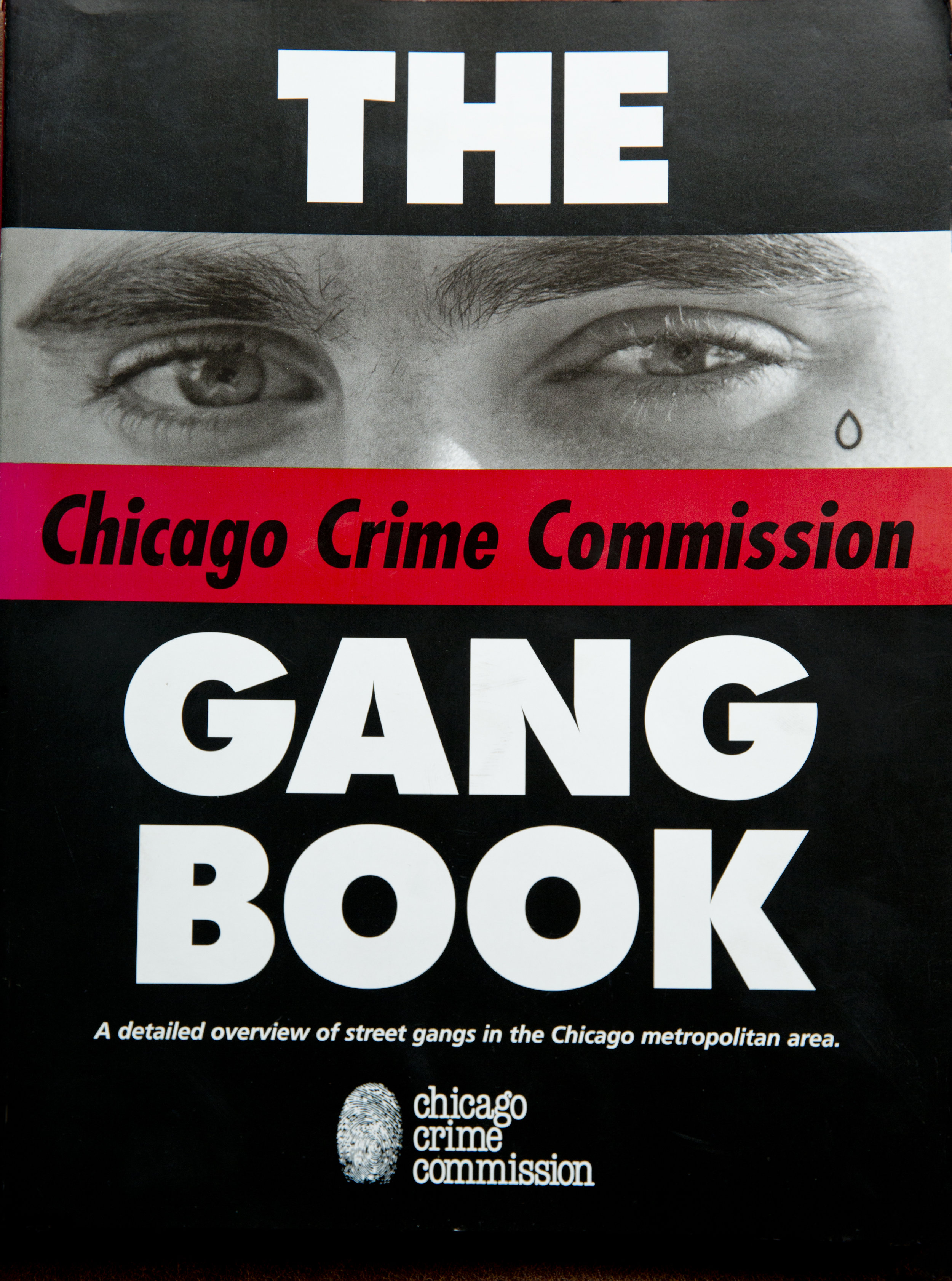 Book produced from Crime Commision photo shoots