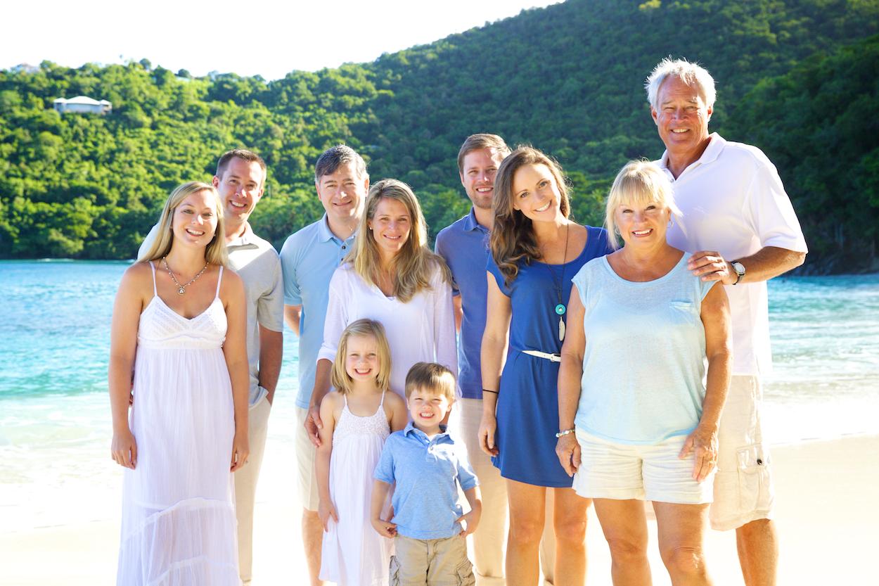family photography virgin islands