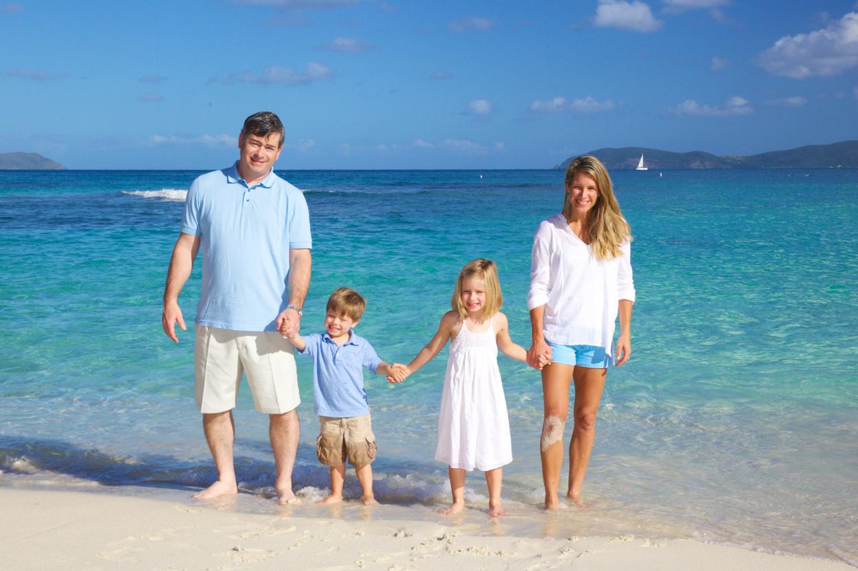 professional family photography st thomas