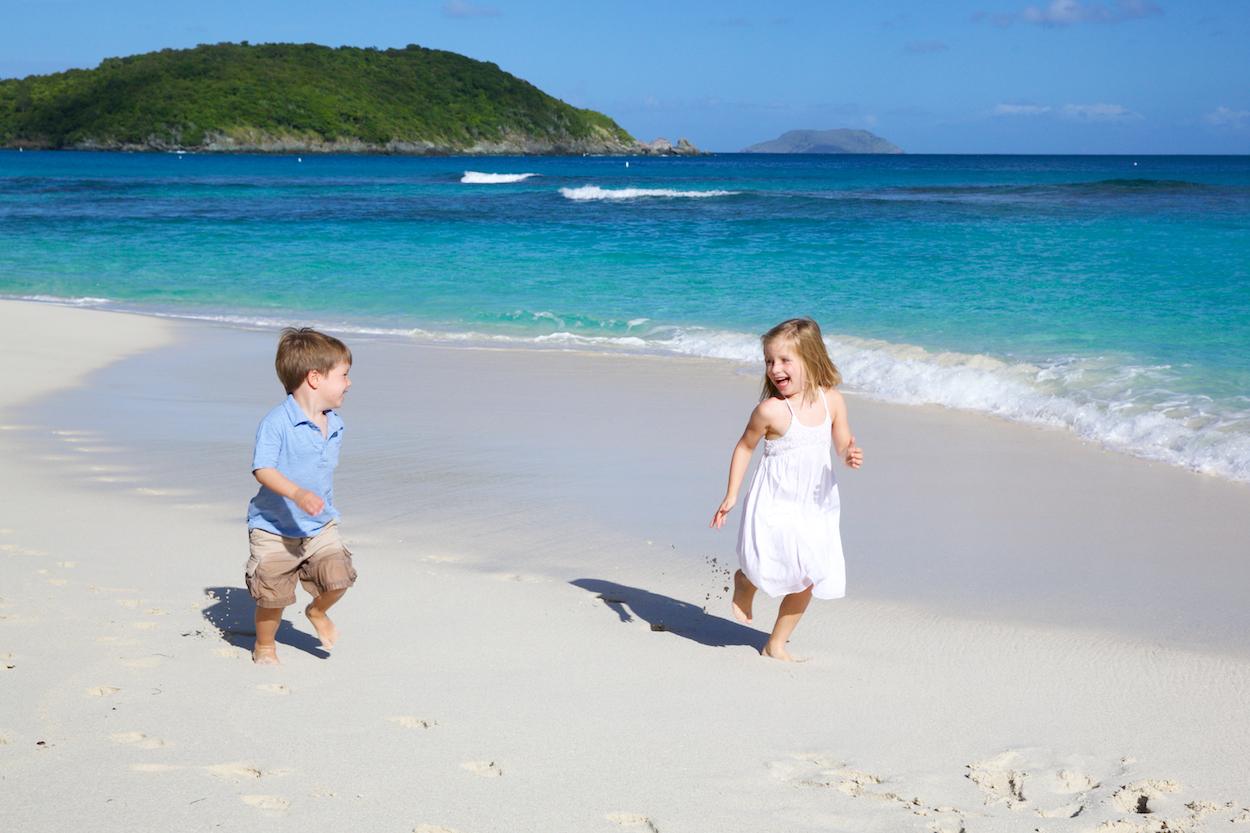 family photography st thomas beach