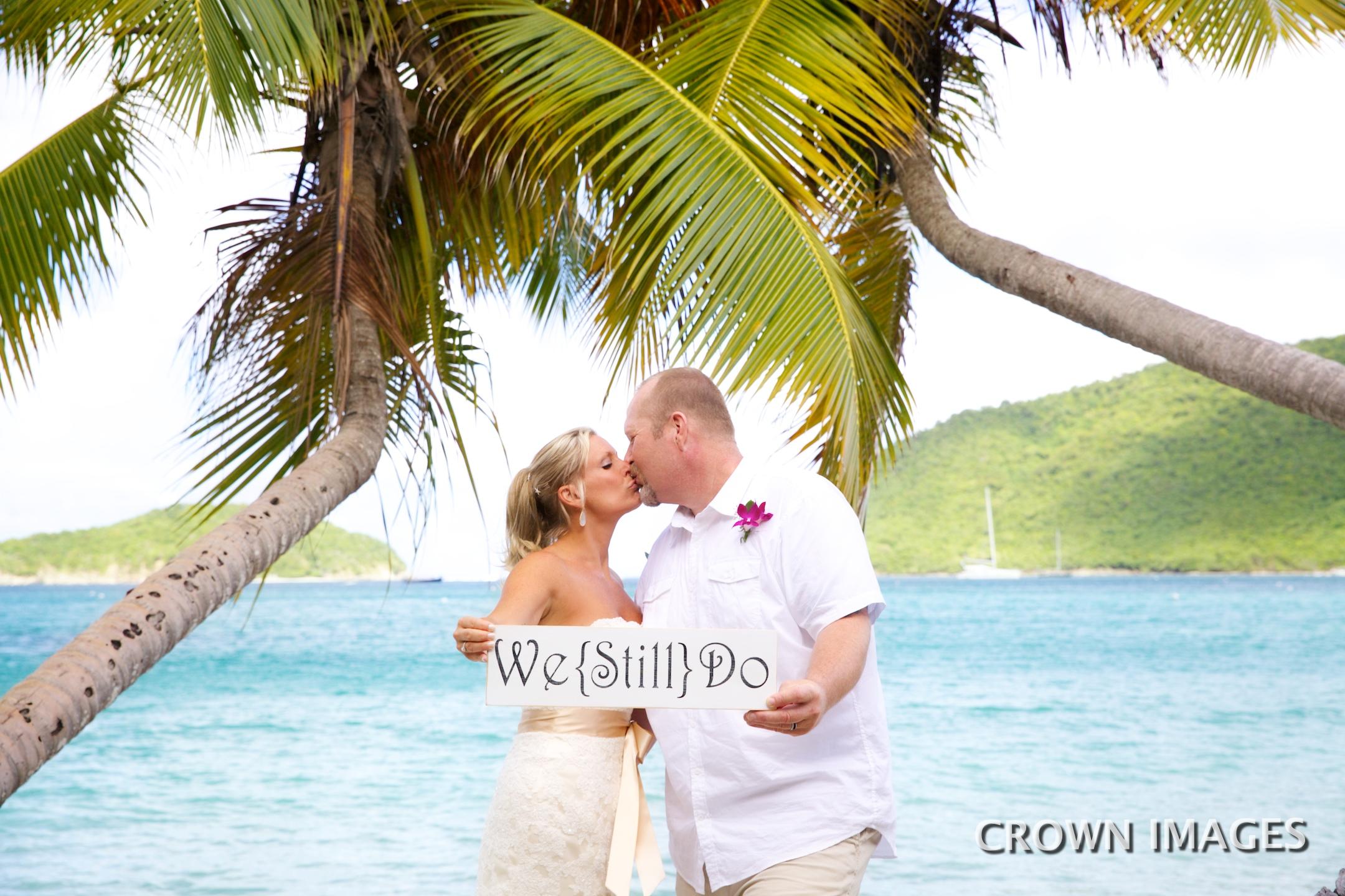 vow renewal photos virgin islands