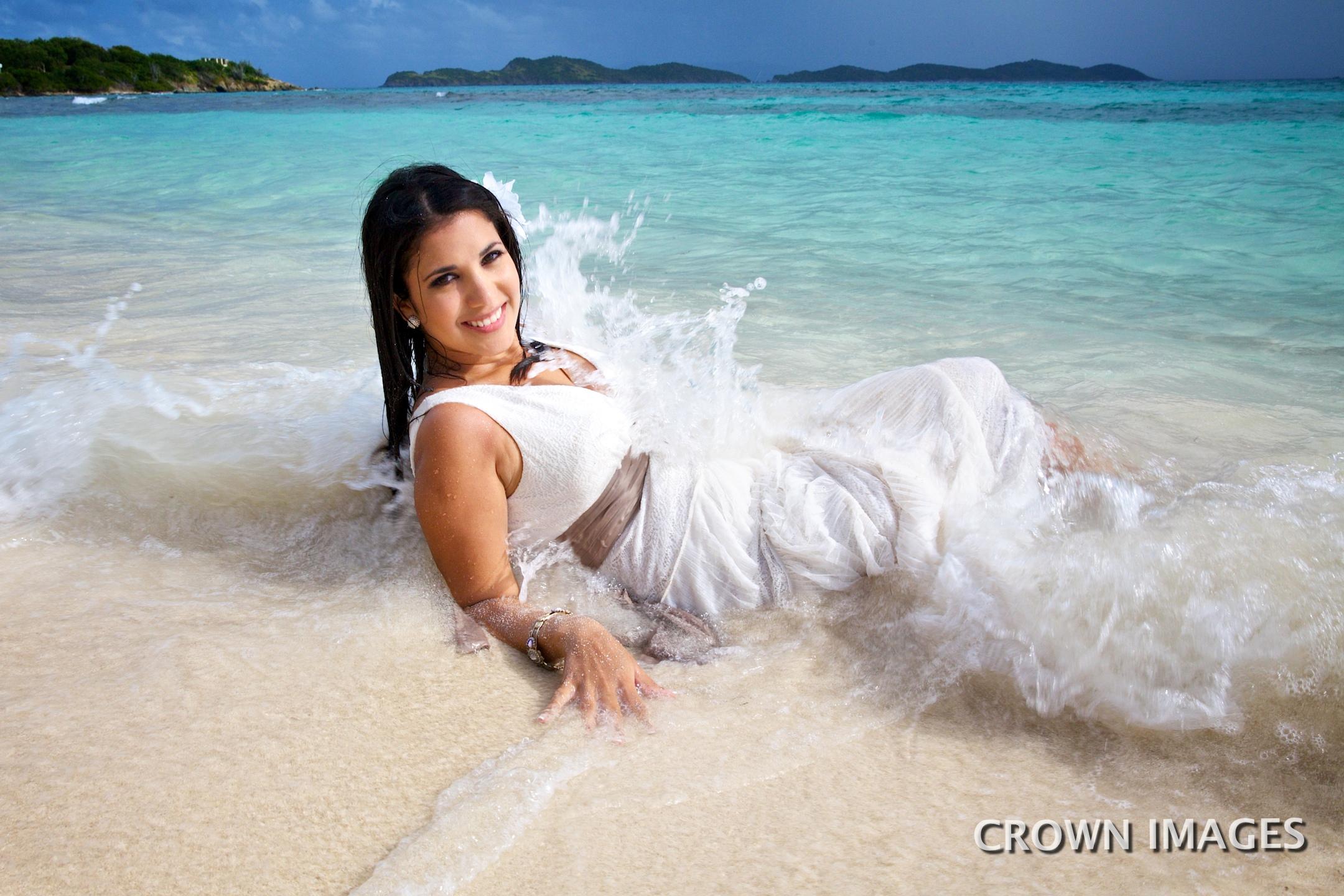 trash the dress wedding photos virgin islands