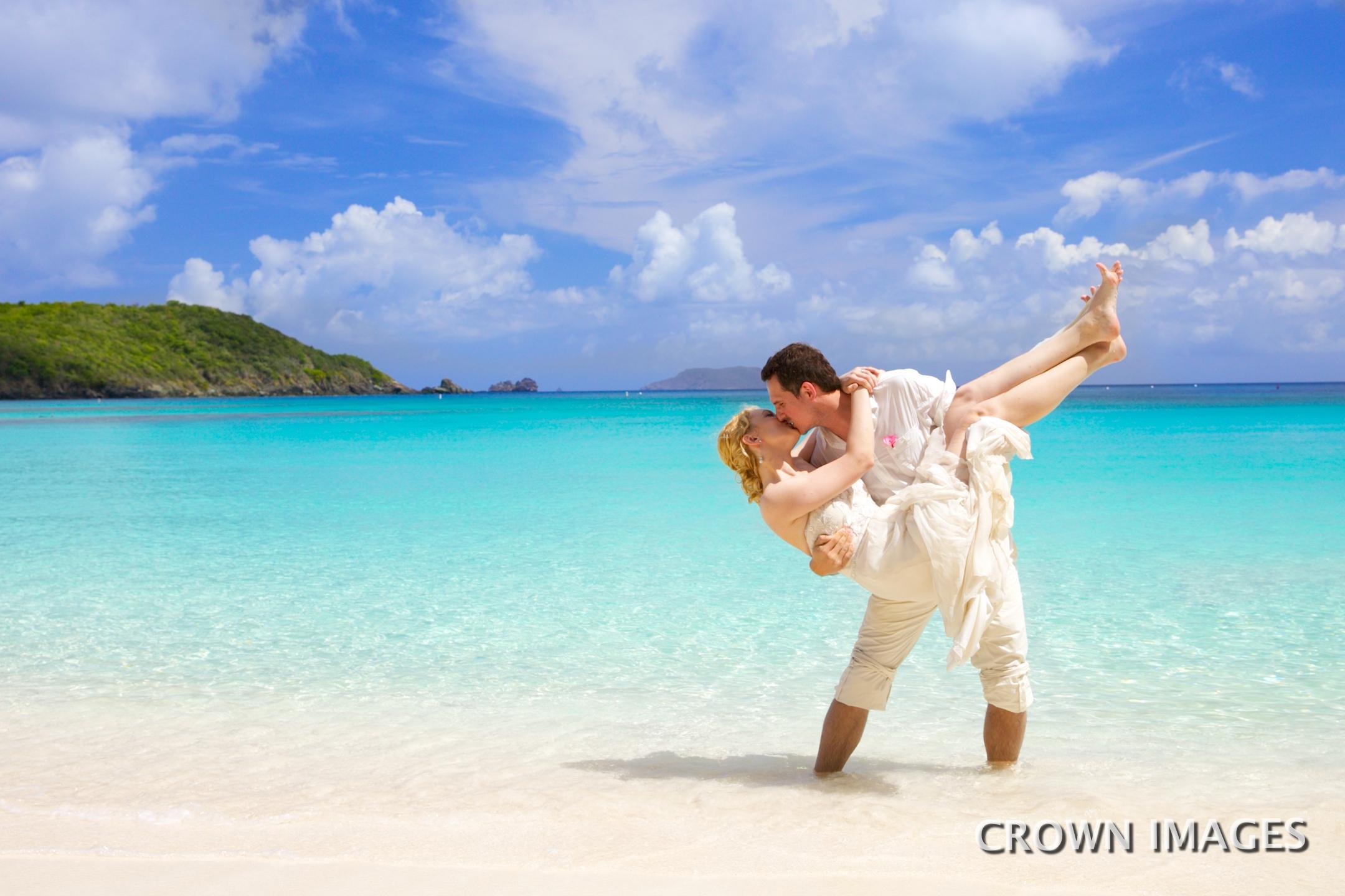 wedding photos st john virgin islands