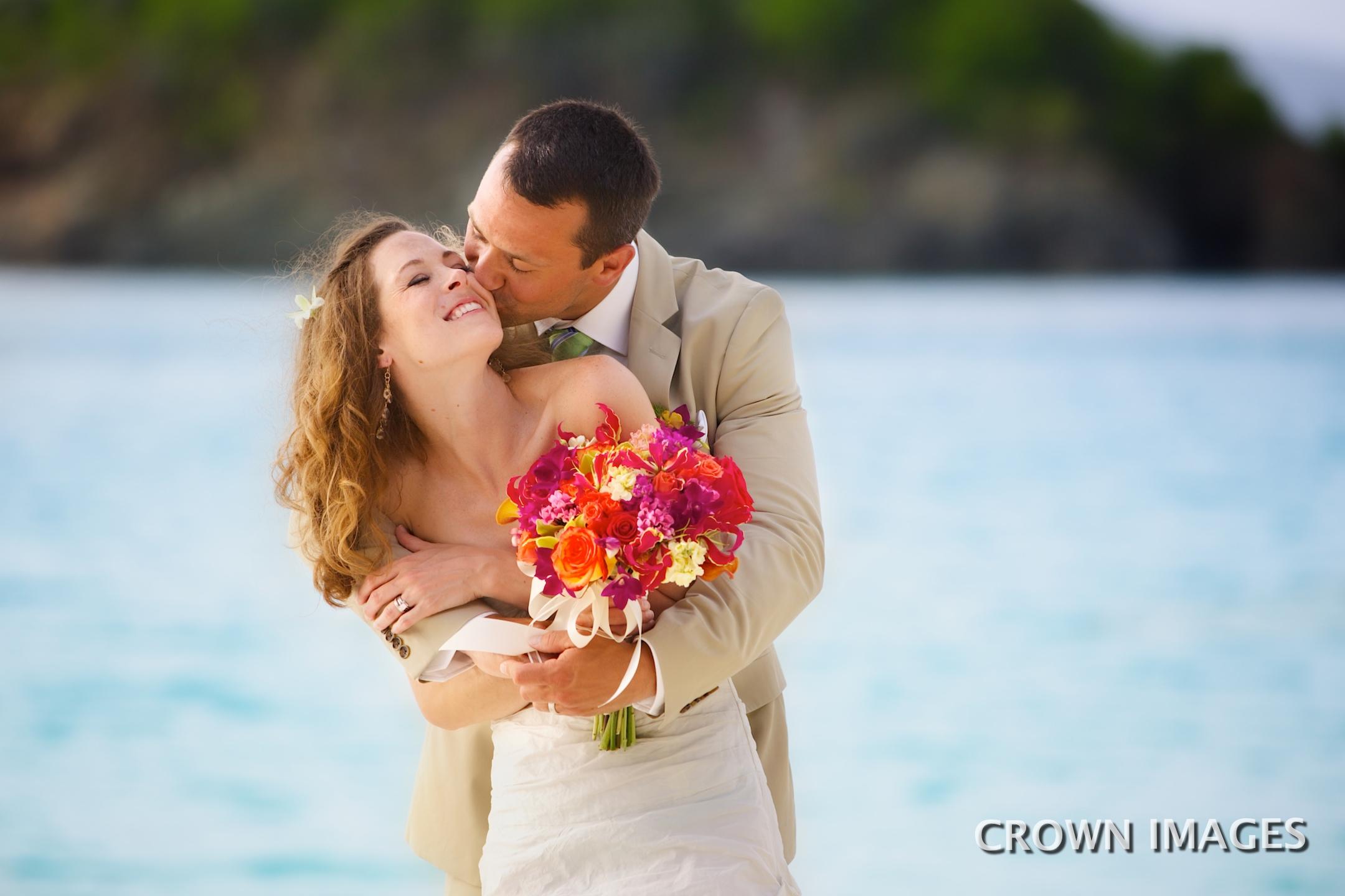 wedding photos st john beach