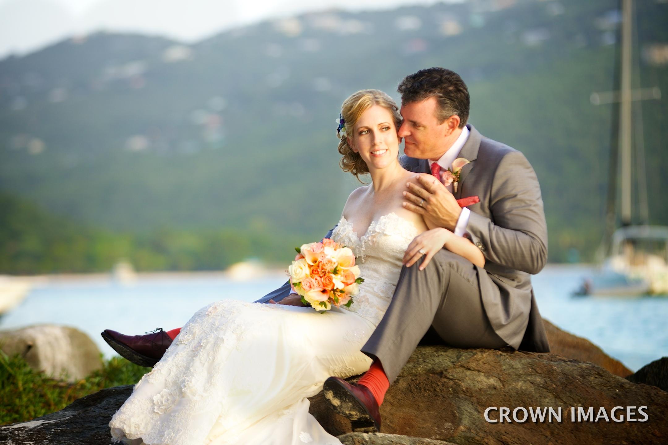 beach wedding in the virgin islands