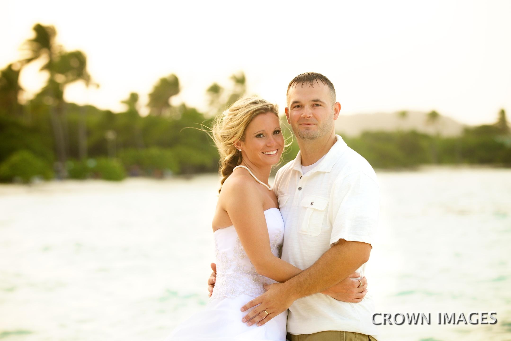sapphire beach wedding