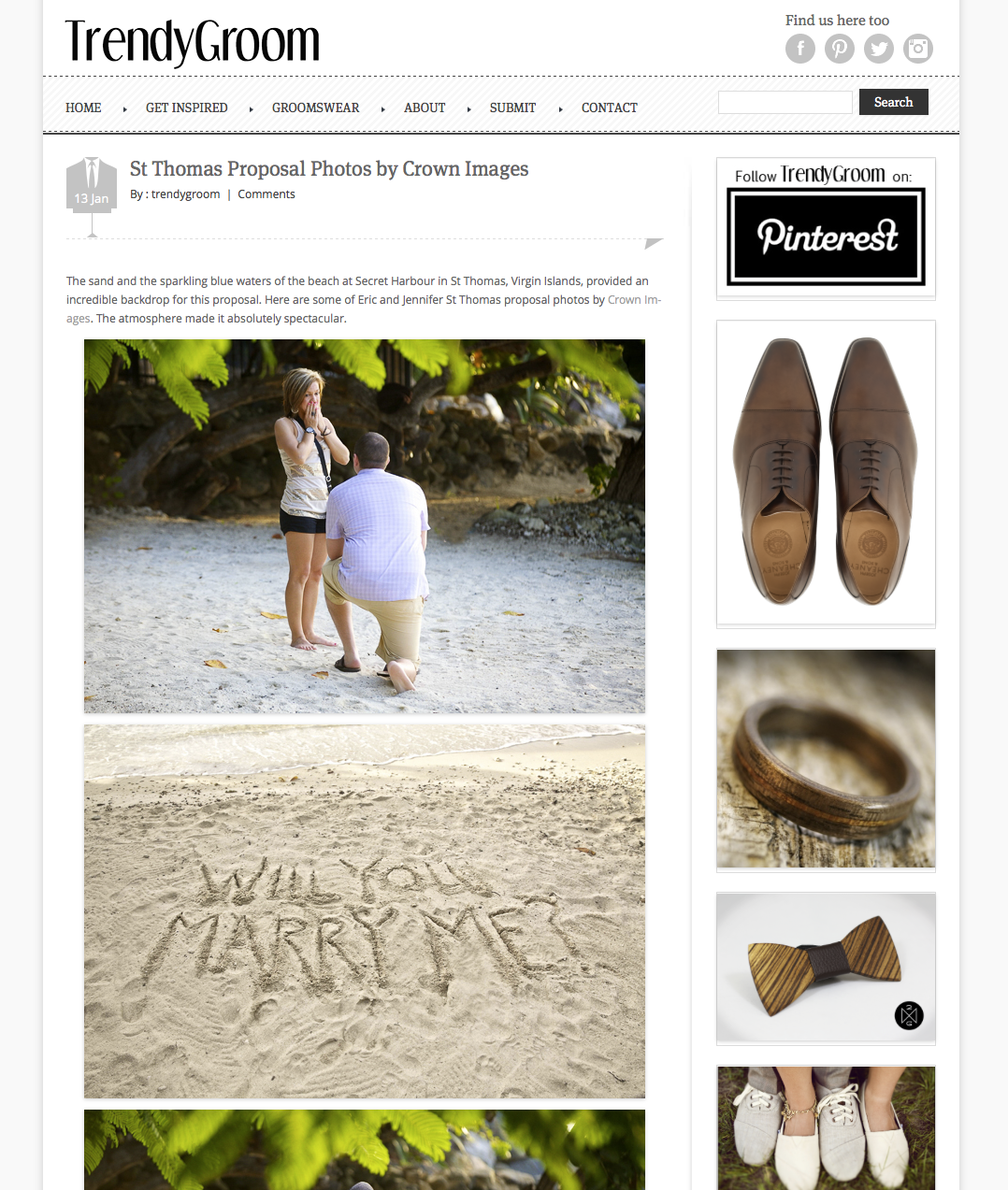 crown images photos featured on trendy groom