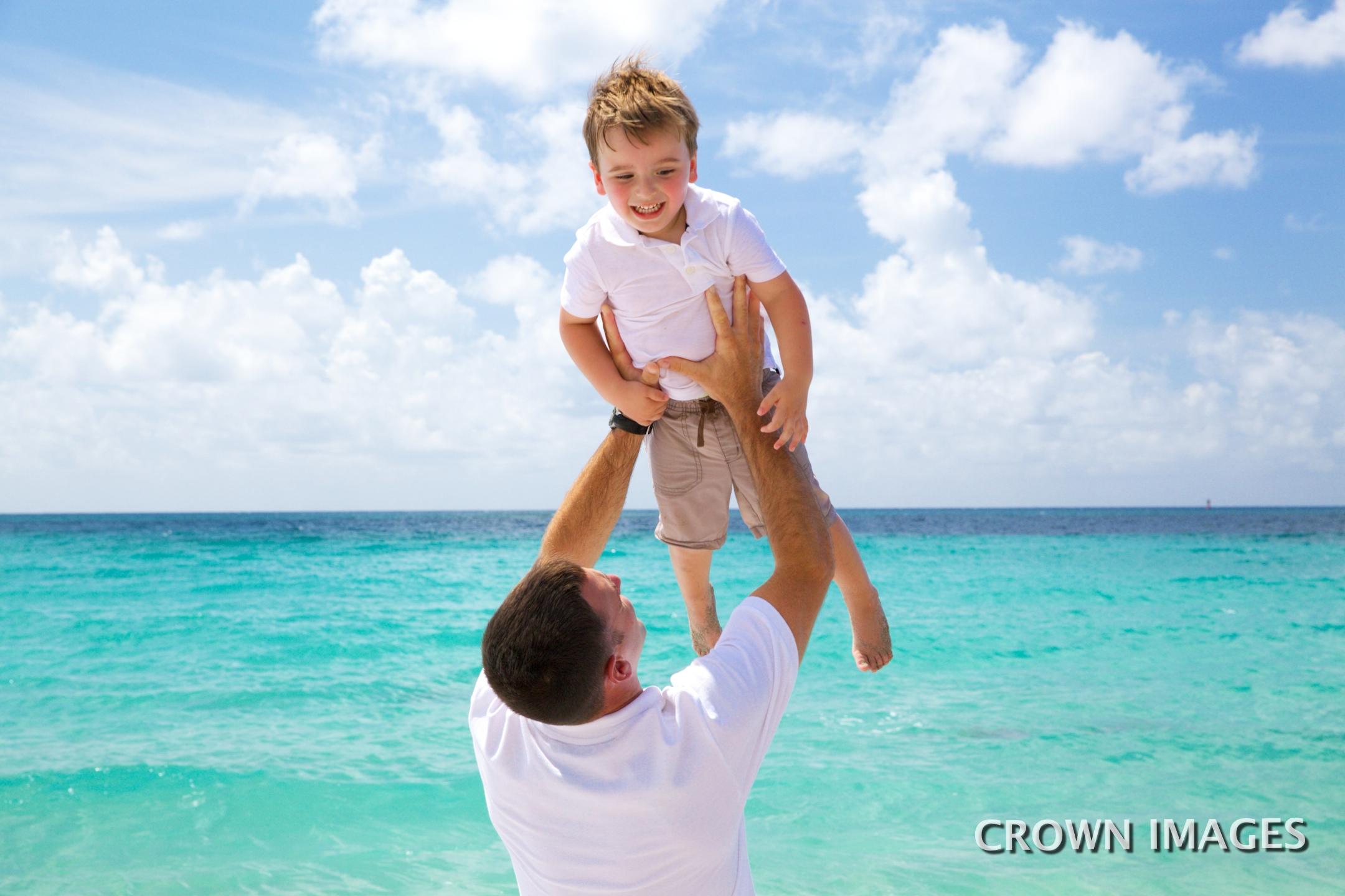 family photo session on the beach st thomas