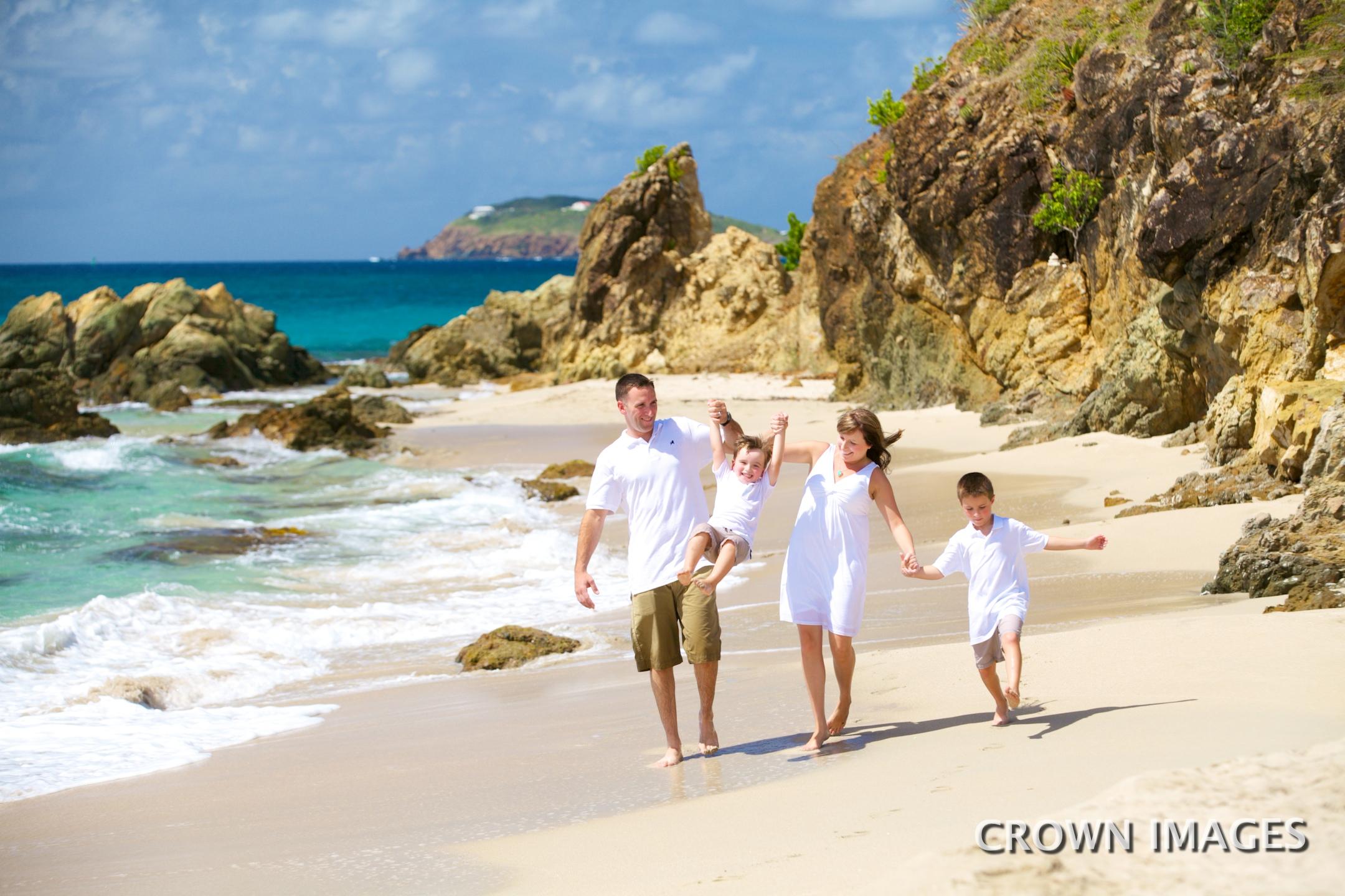 photos on the beach of st thomas