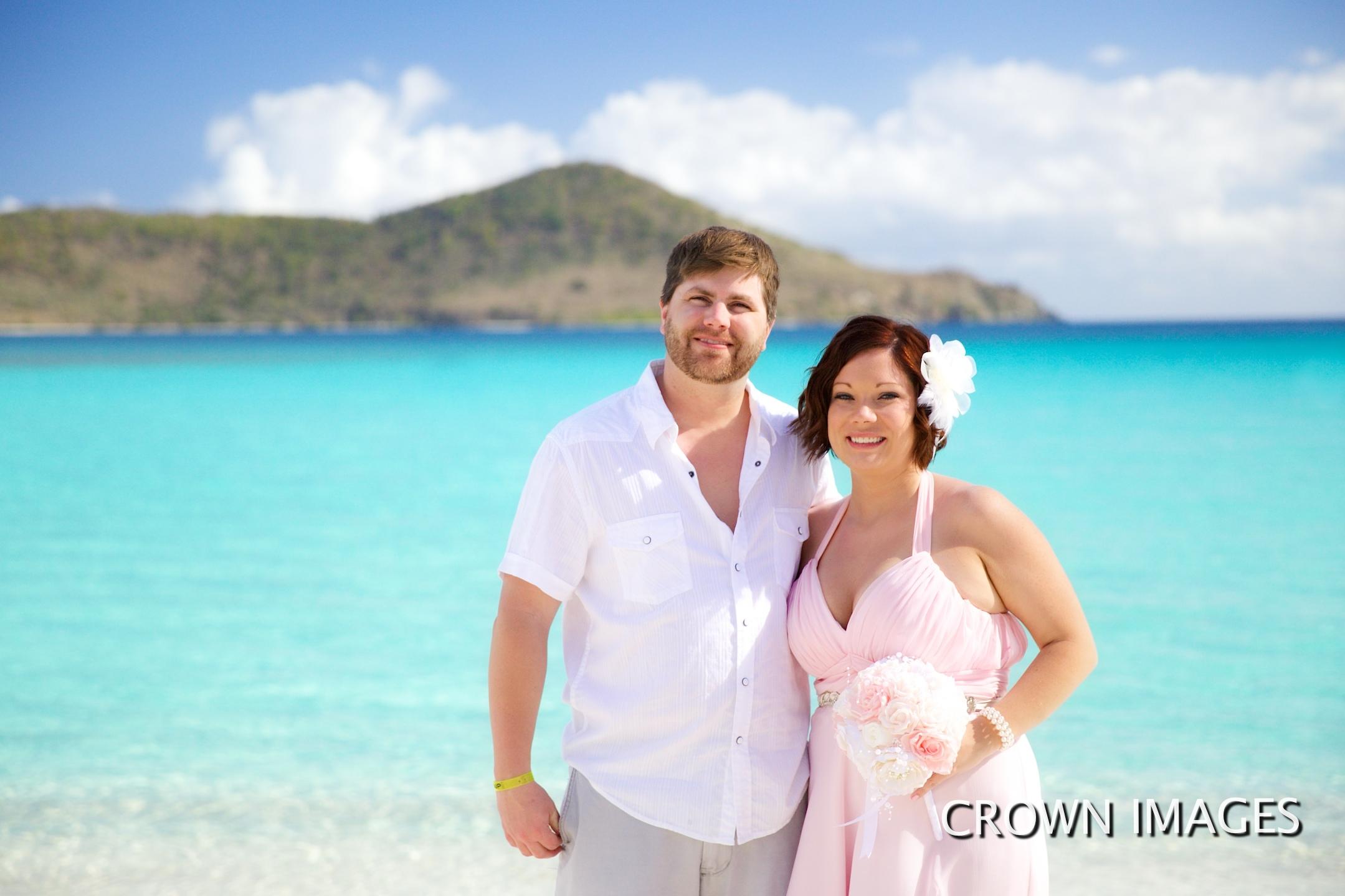 virgin islands vow renewal photos