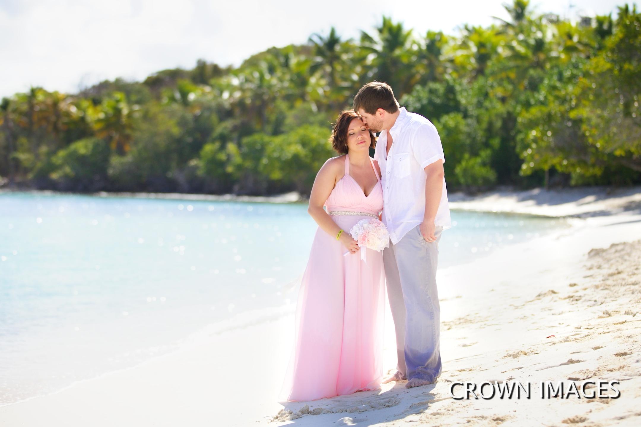 wedding photos virgin islands