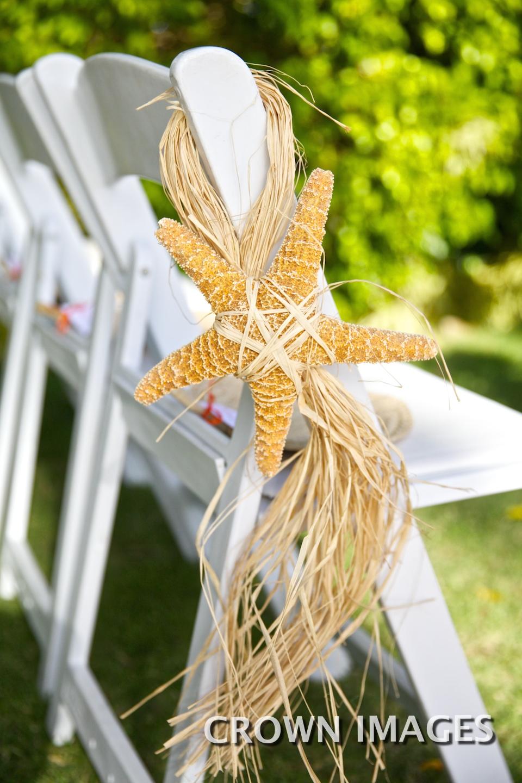 chair details destination wedding