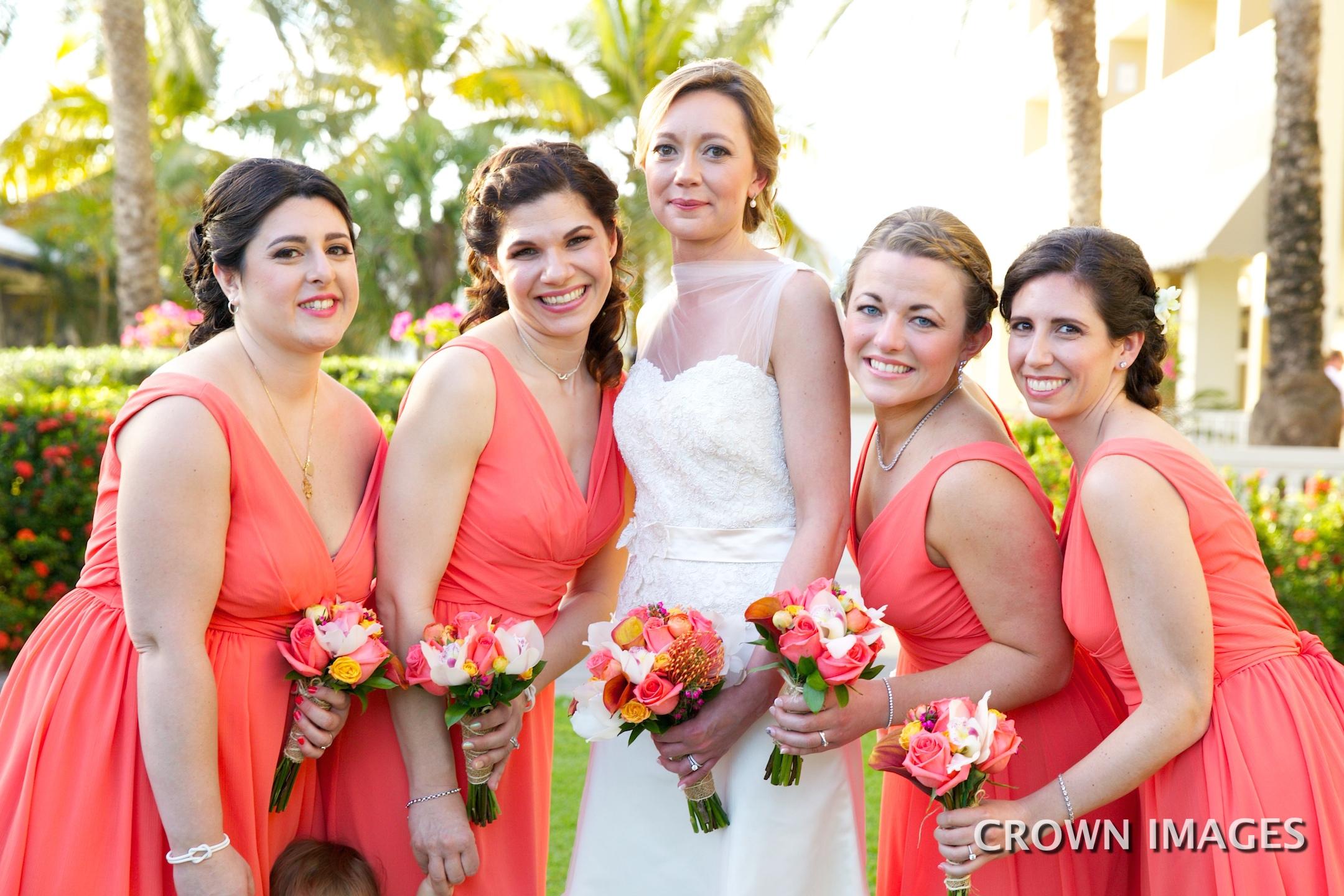 bridesmaids dresses virgin islands
