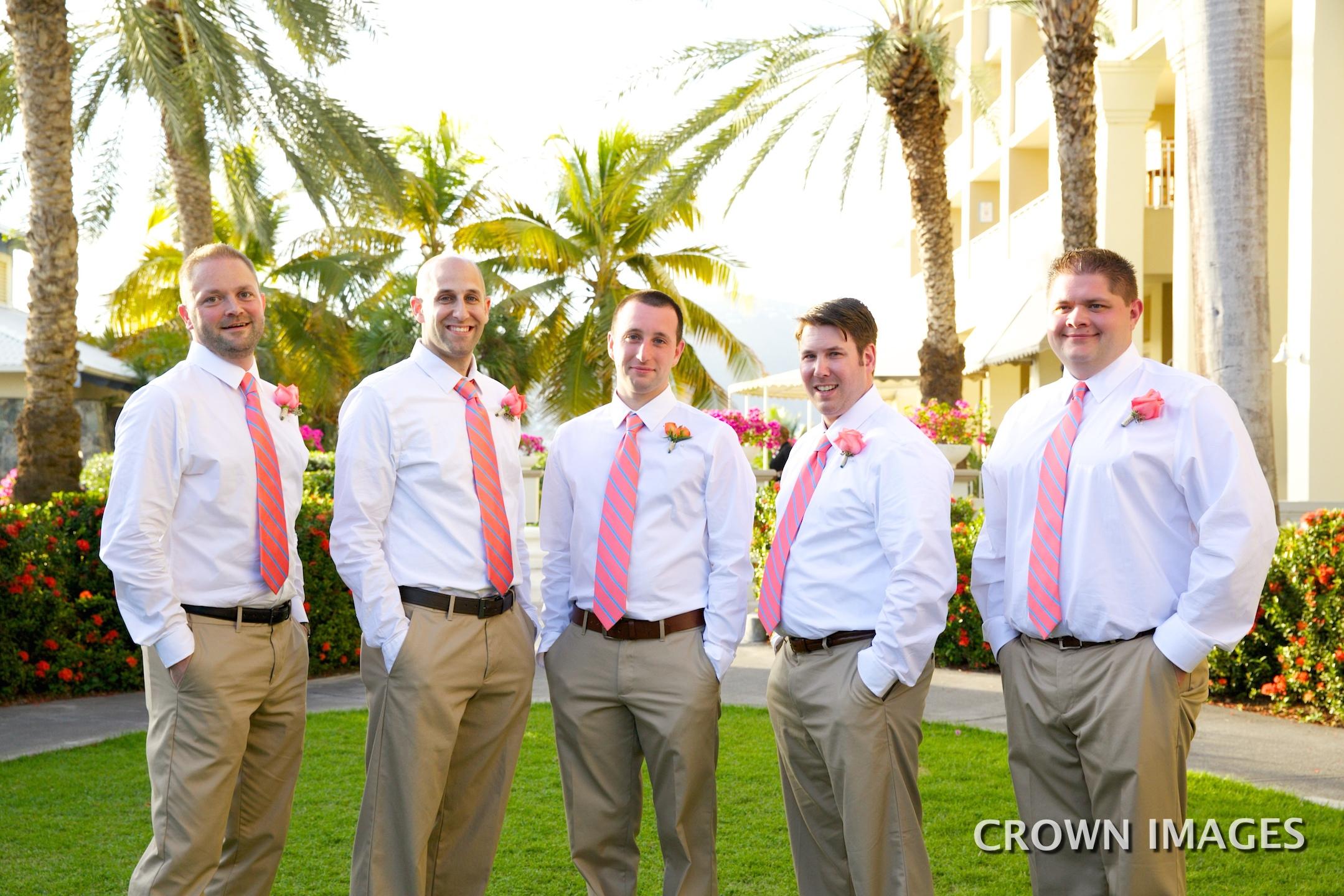 groomsmen attire st thomas