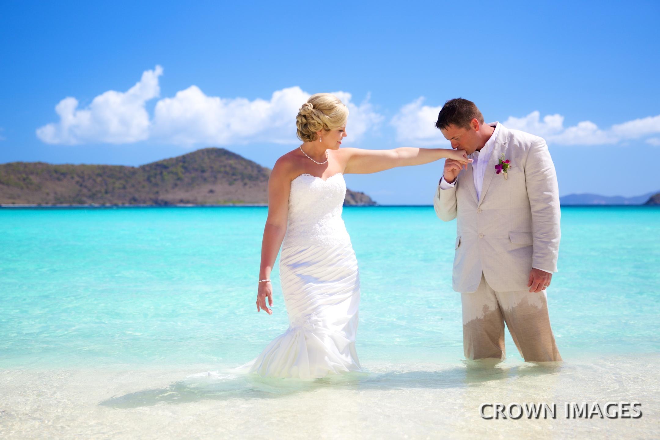lindquist beach st thomas wedding