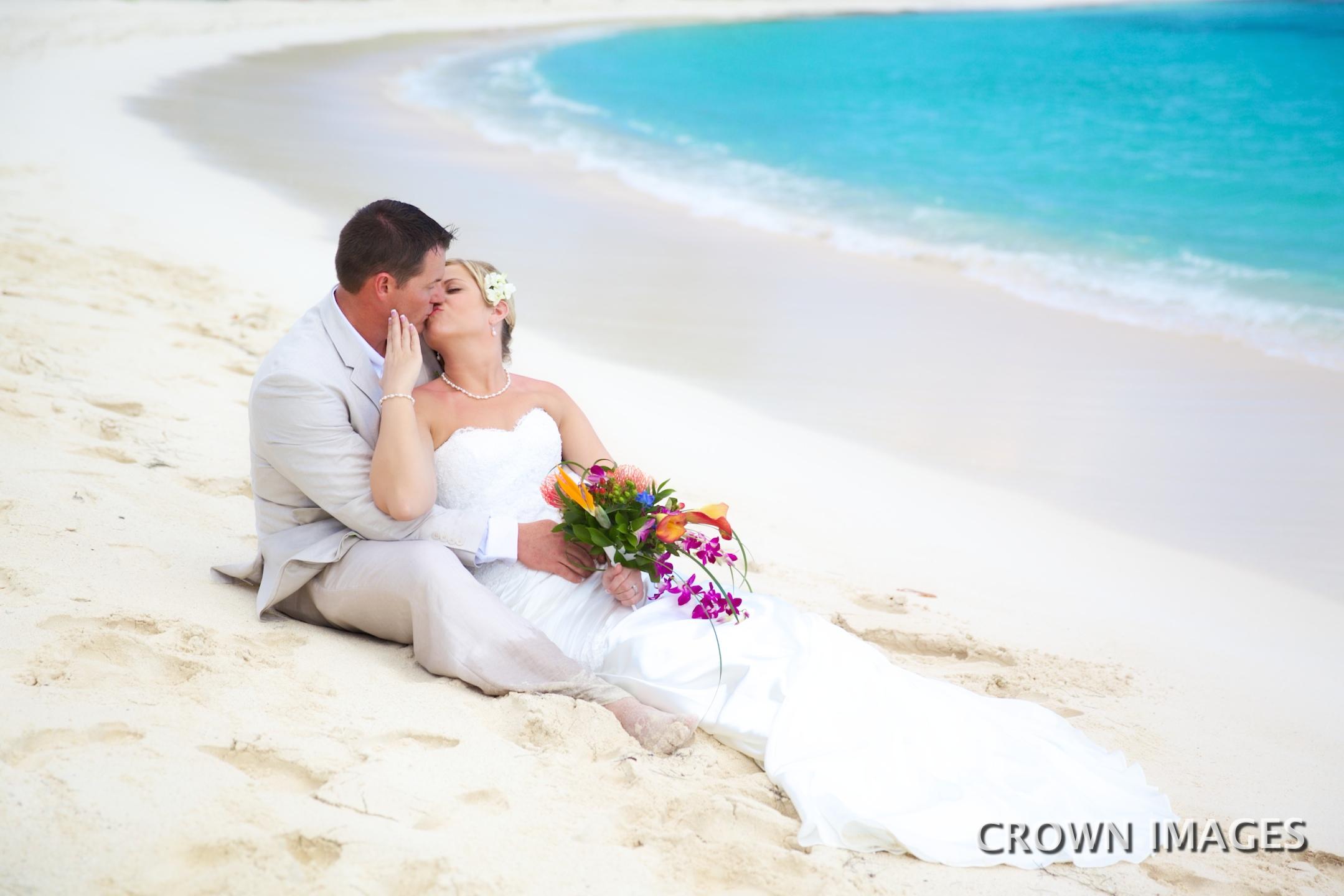 wedding on lindquist beach