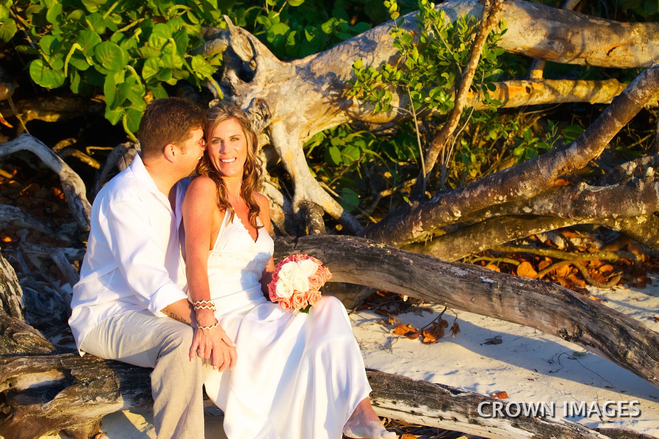 sunset wedding photos st john