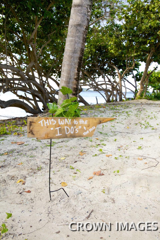 wedding details virgin islands