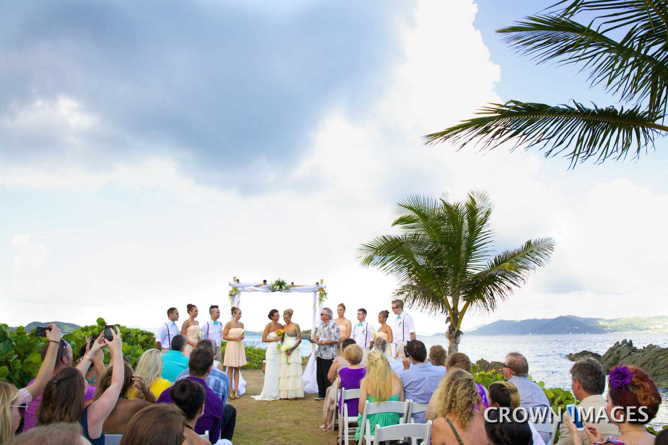 st thomas wedding ceremony