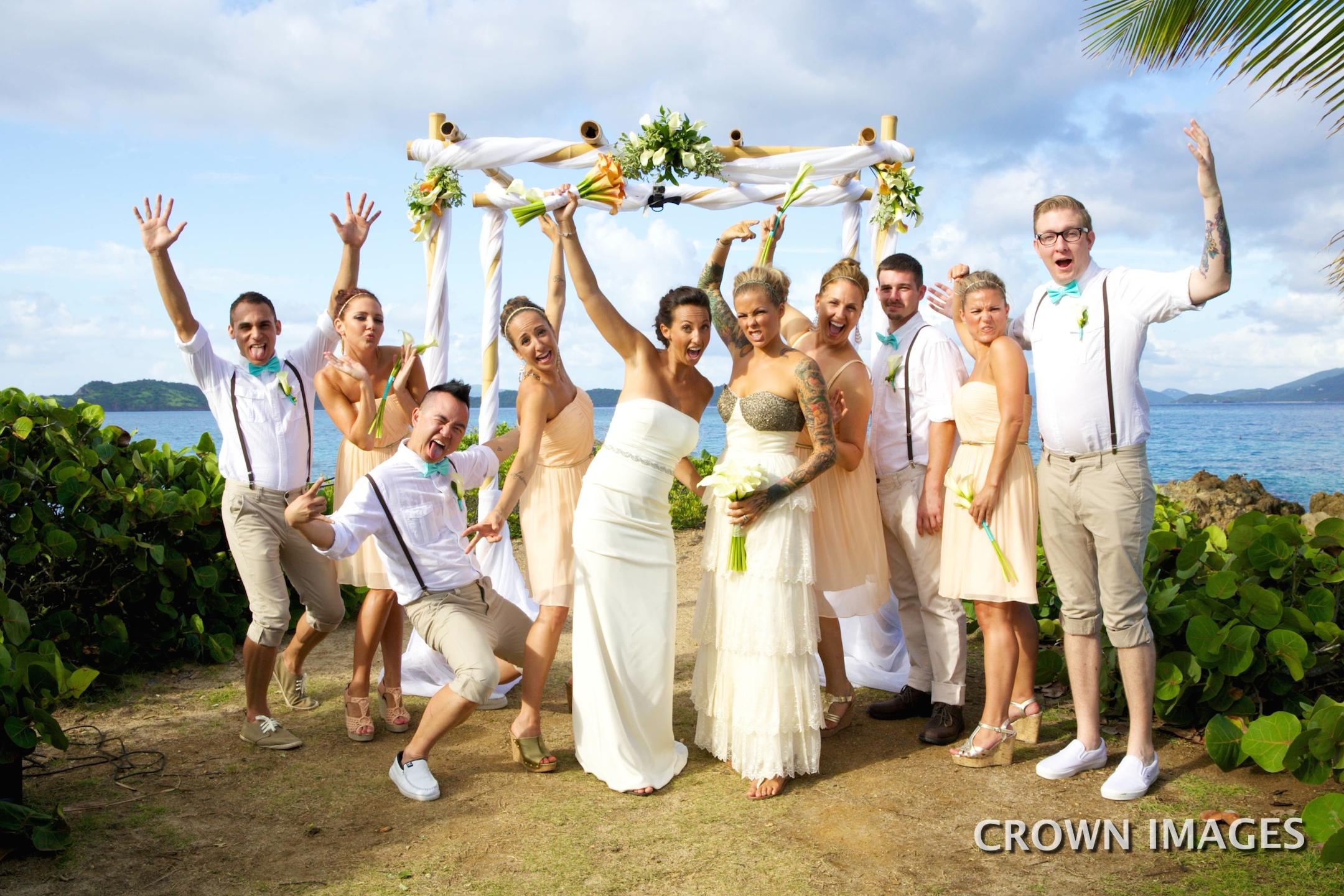 same sex wedding on st thomas in virgin islands