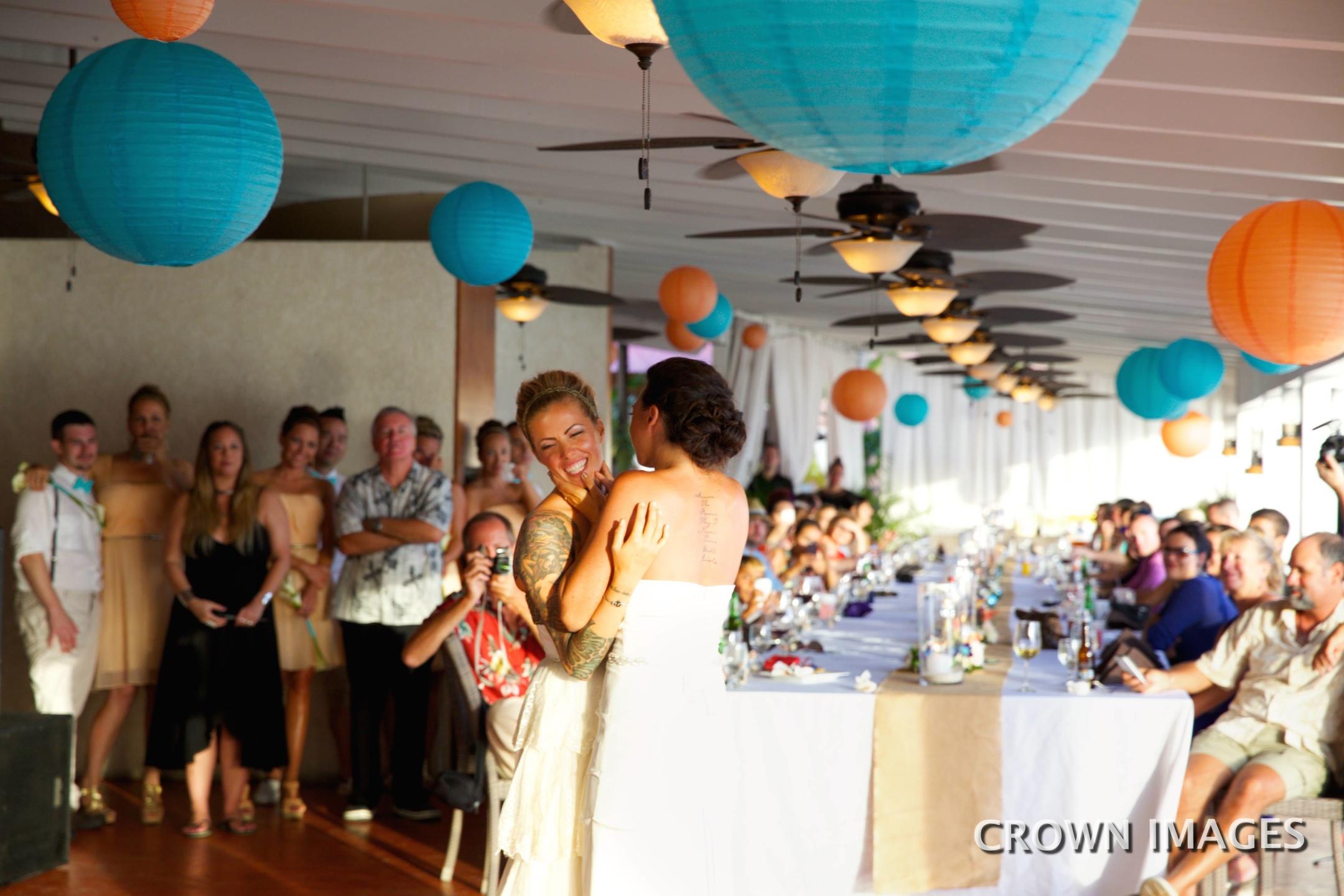 first dance wedding st thomas