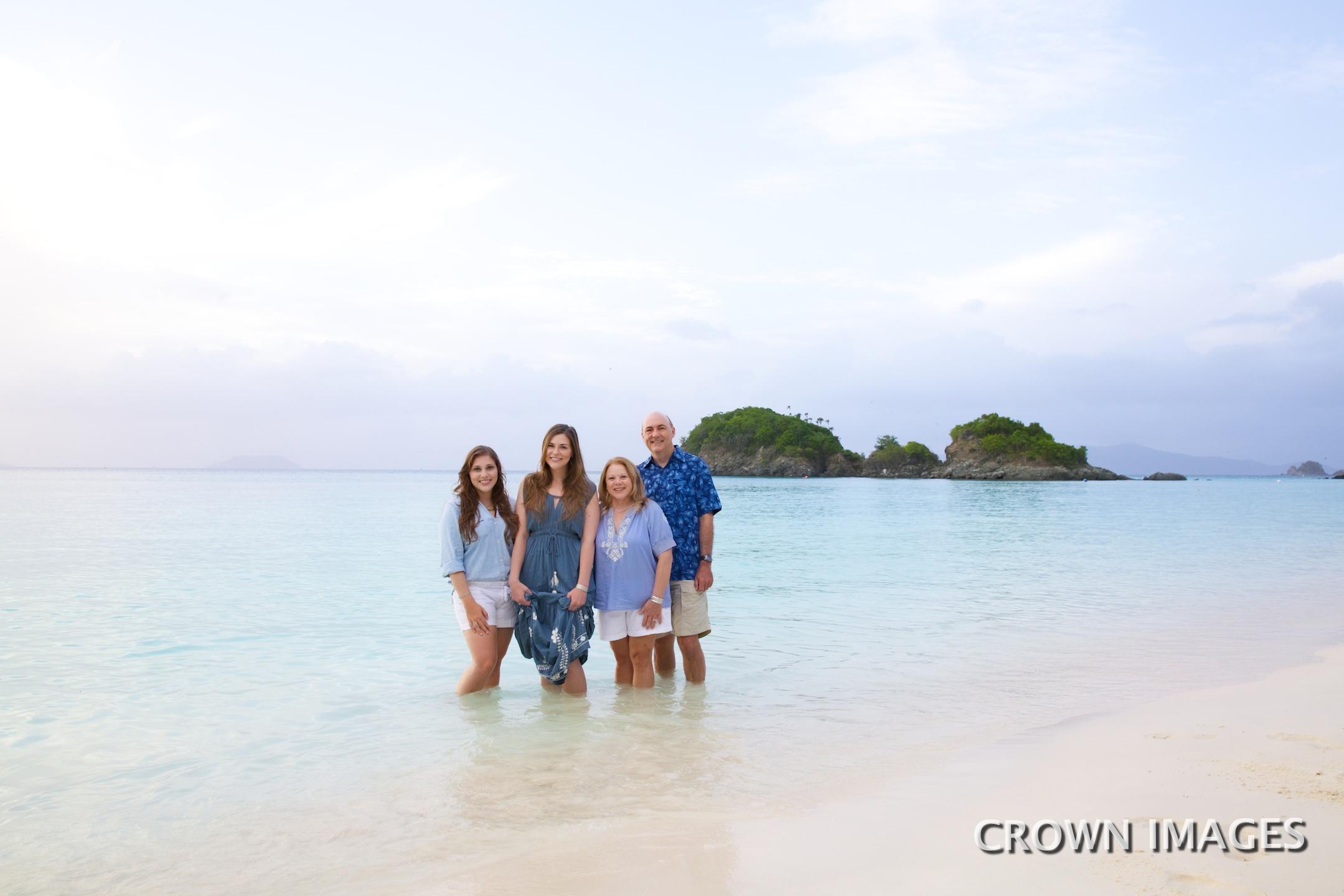 family vacation photos virgin islands