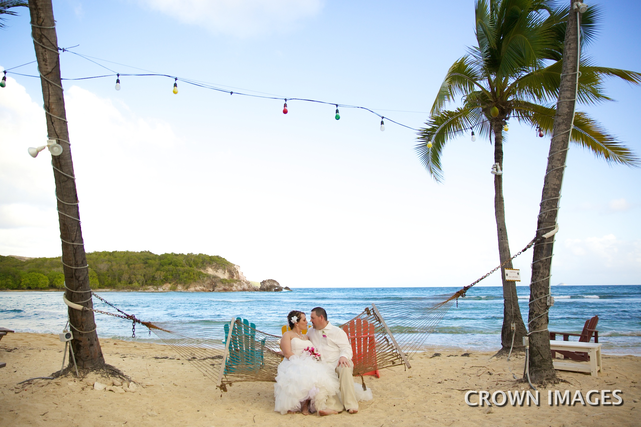 bolongo bay resort beach wedding
