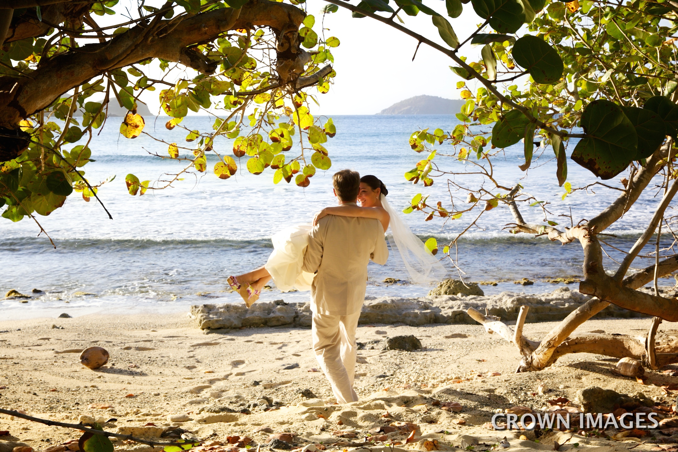 romantic wedding in the virgin islands