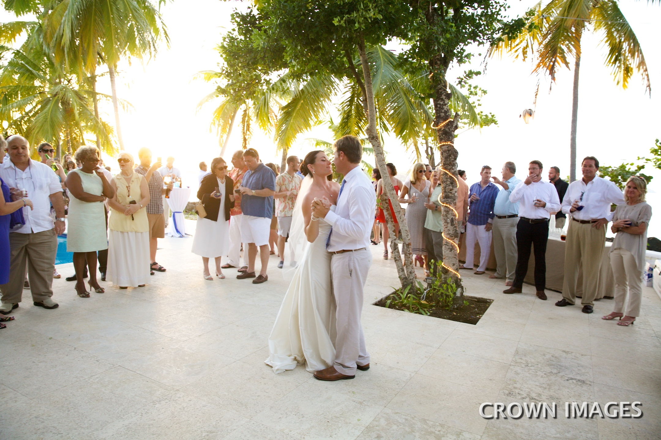 first dance wedding st thomas