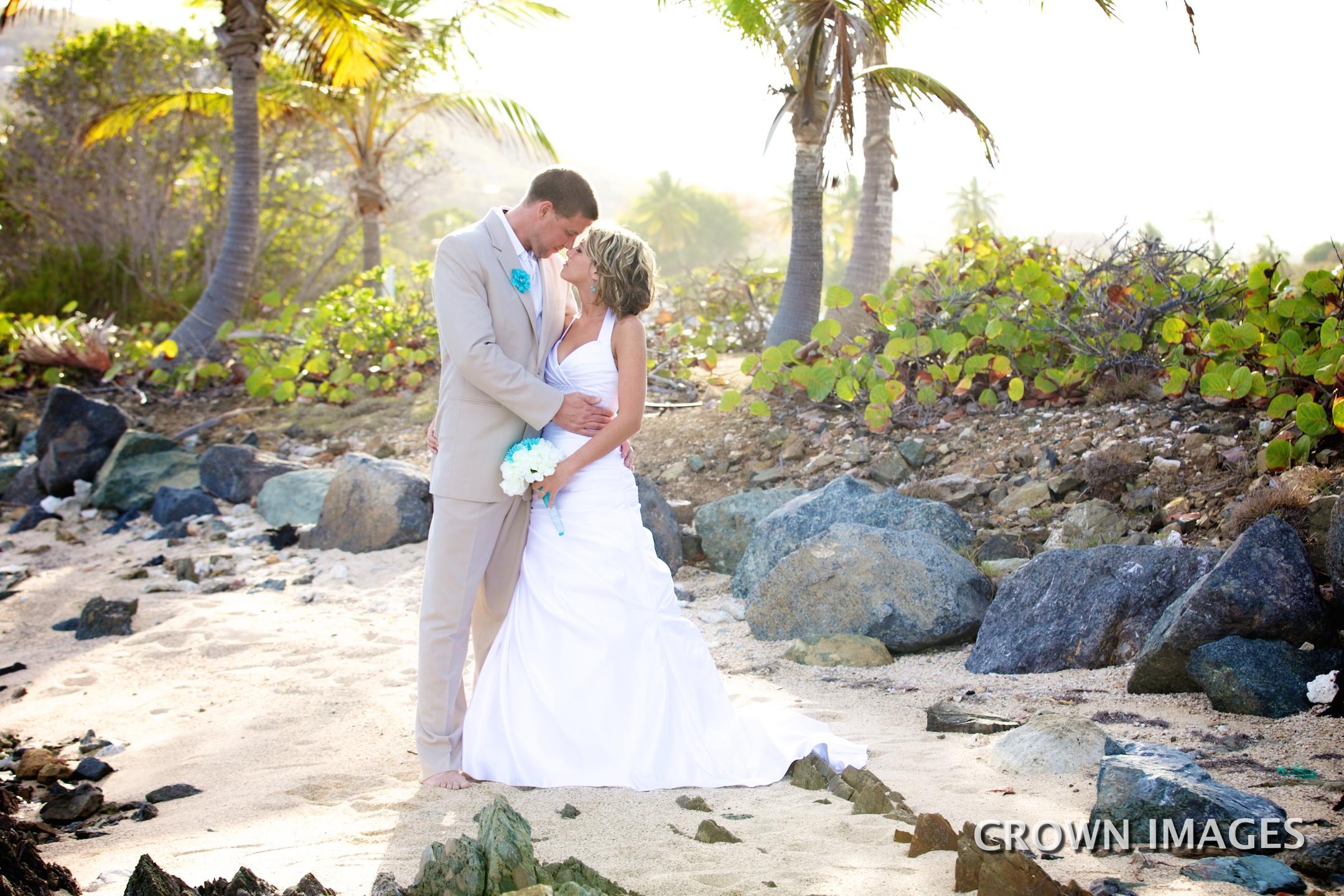 spretty klip point location for wedding on st thomas