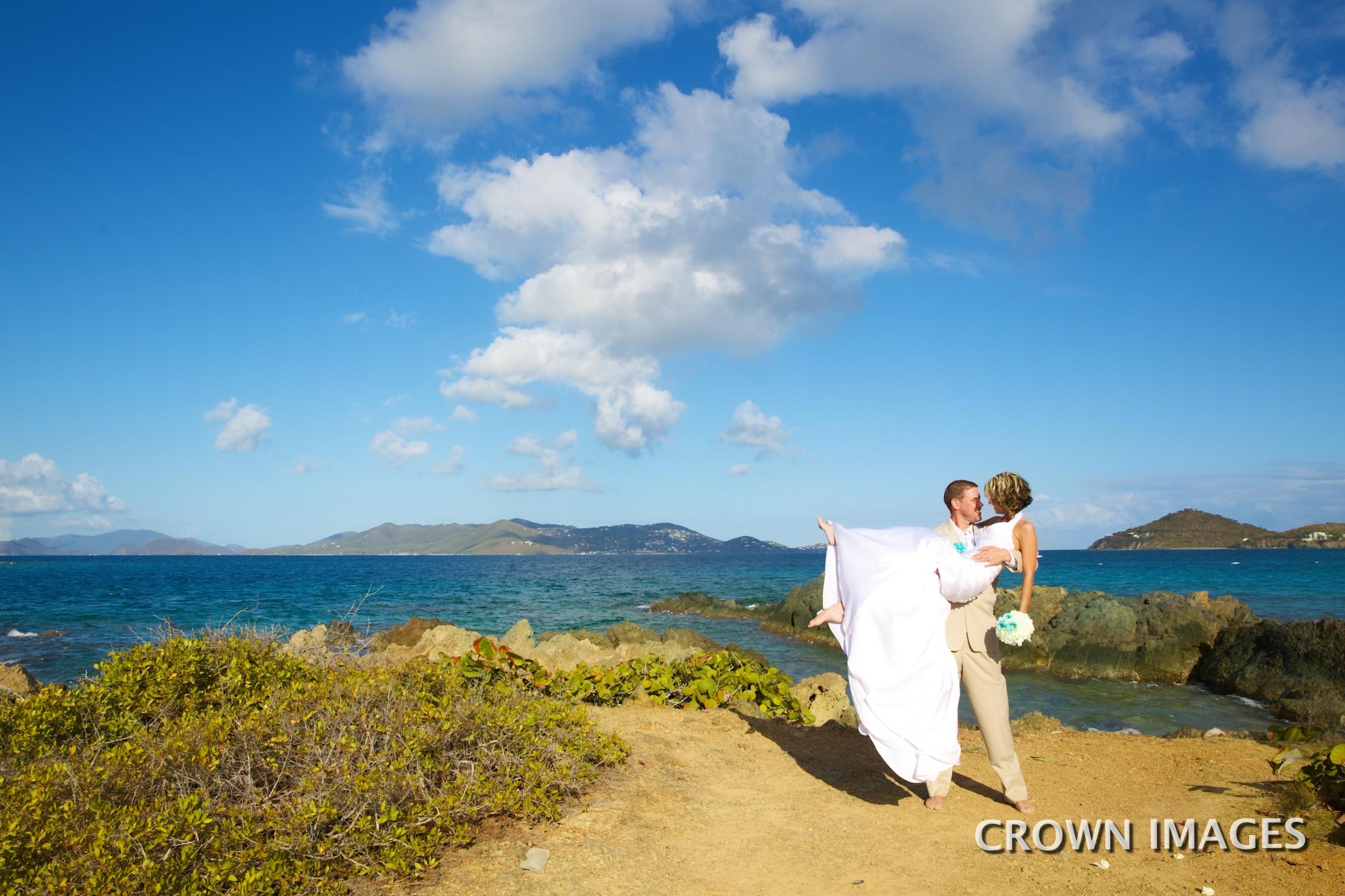 wedding virgin islands photos