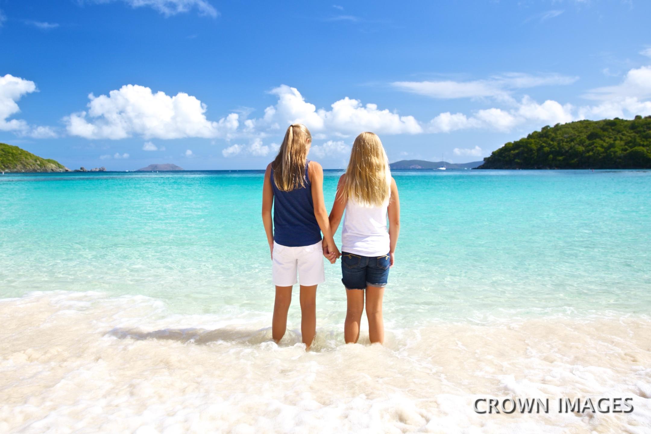 family vacation photos st john virgin islands