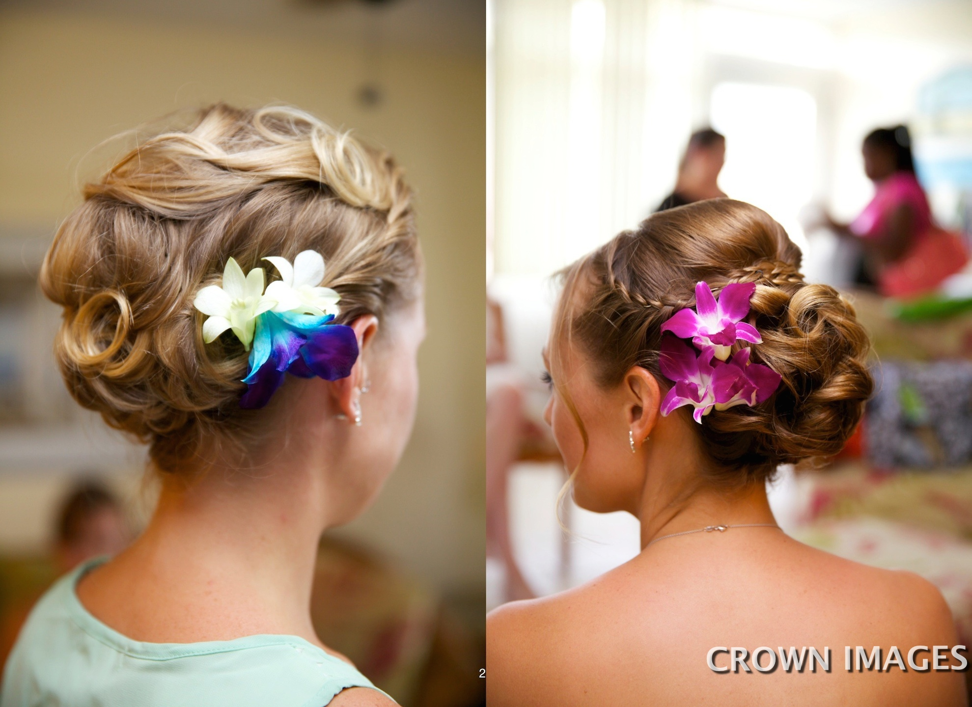 wedding hairstyles virgin islands by sugar and spice
