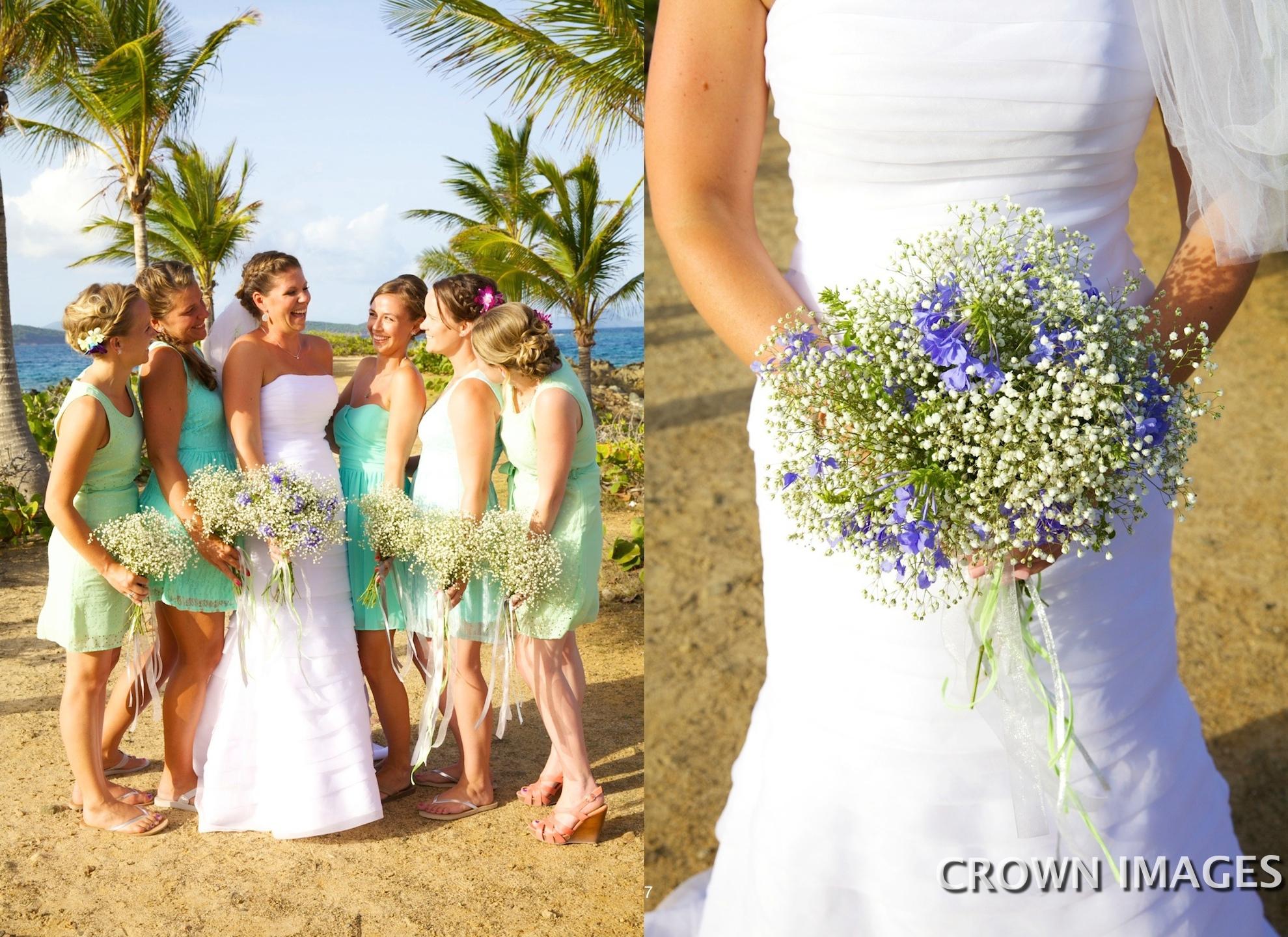 wedding flowers for st thomas