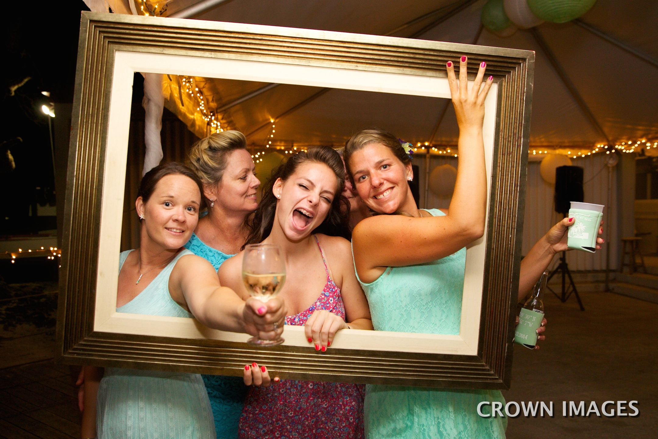wedding reception st thomas